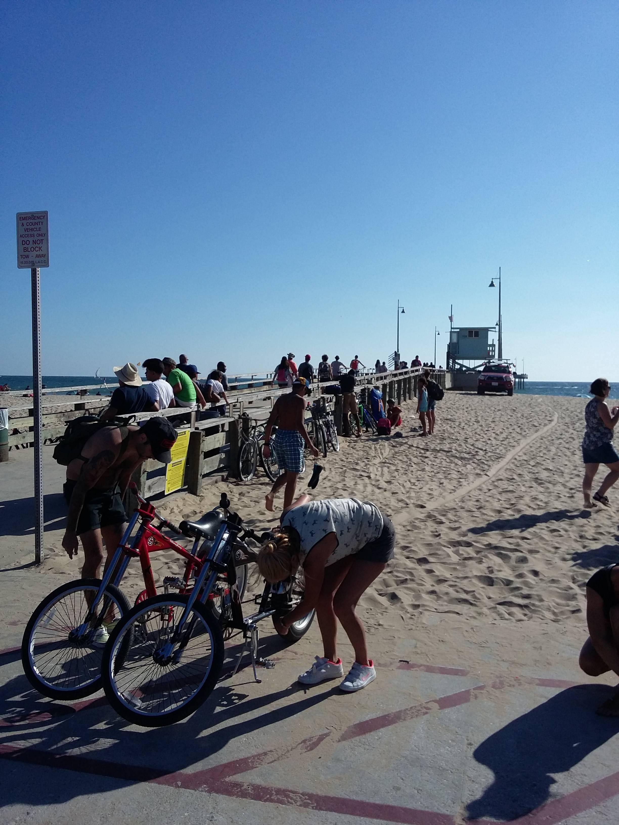 Photo 1: De Santa Monica à Venice beach en Vélo