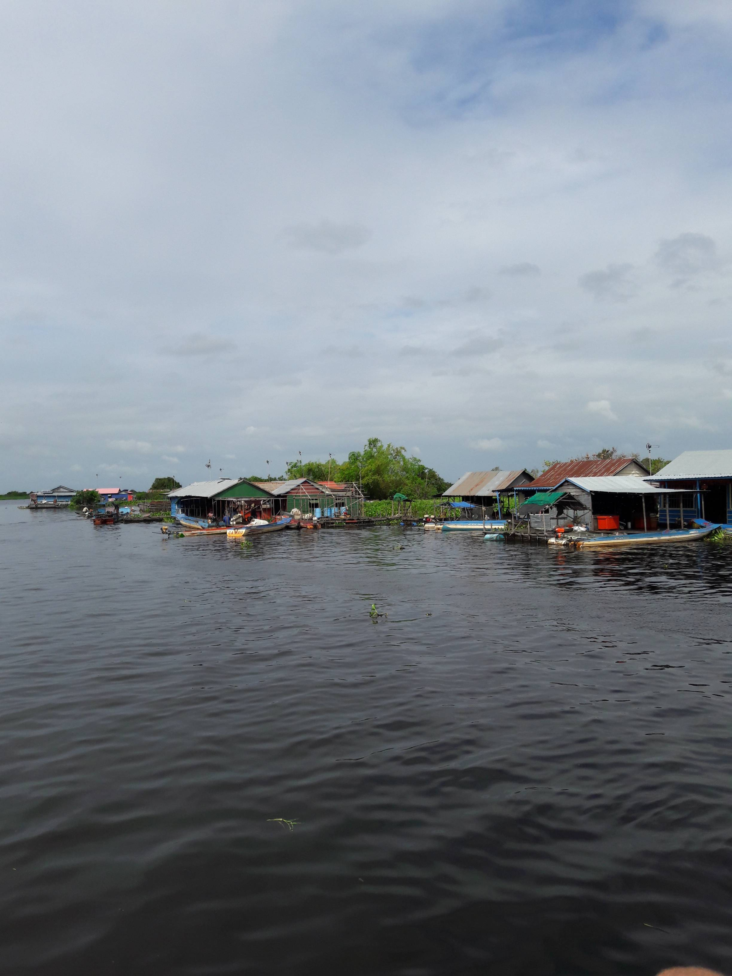 Photo 1: De Siem Reap à Battambang en bateau