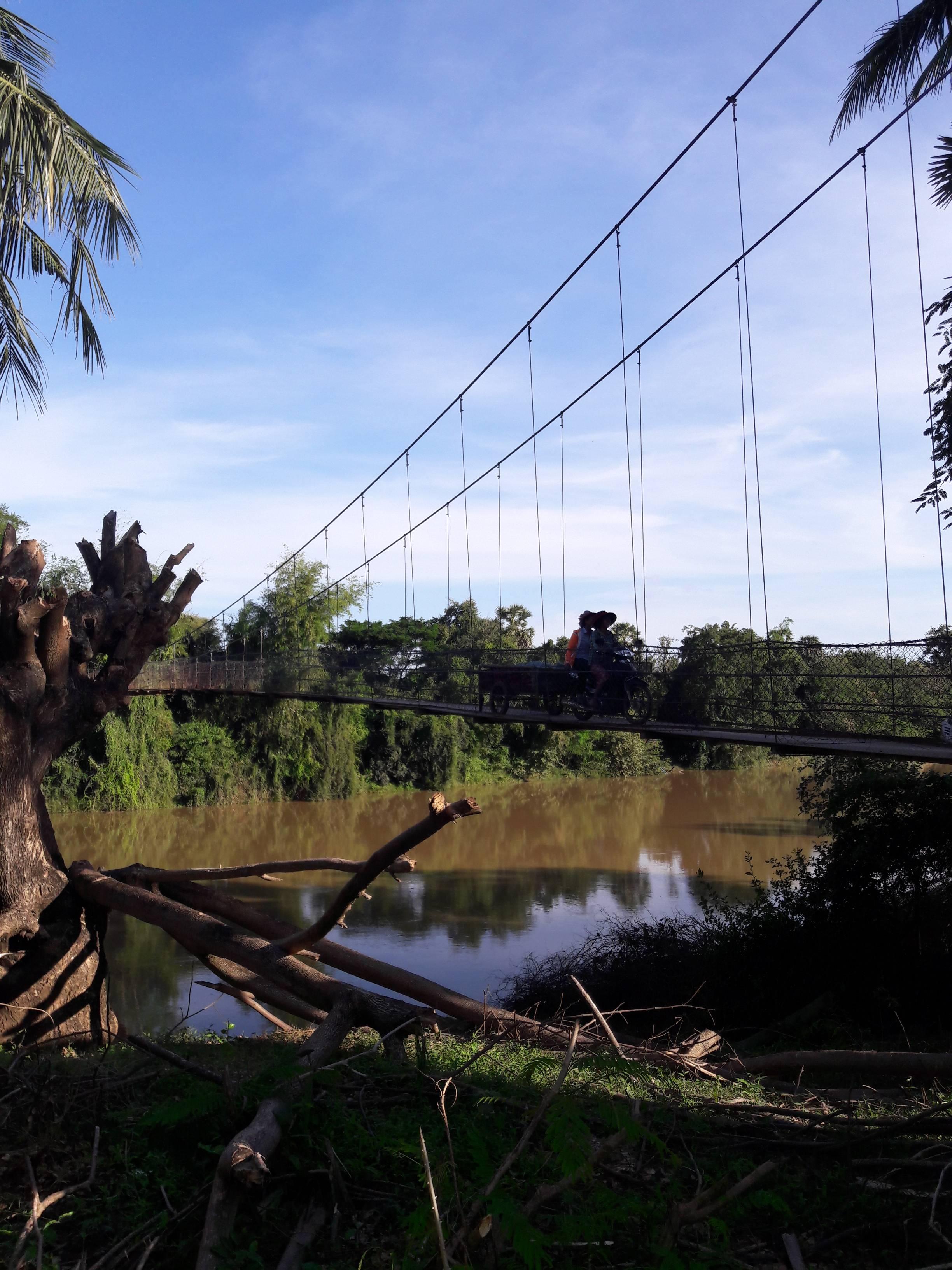 Photo 1: Battambang en dehors des sentiers battus avec Sam