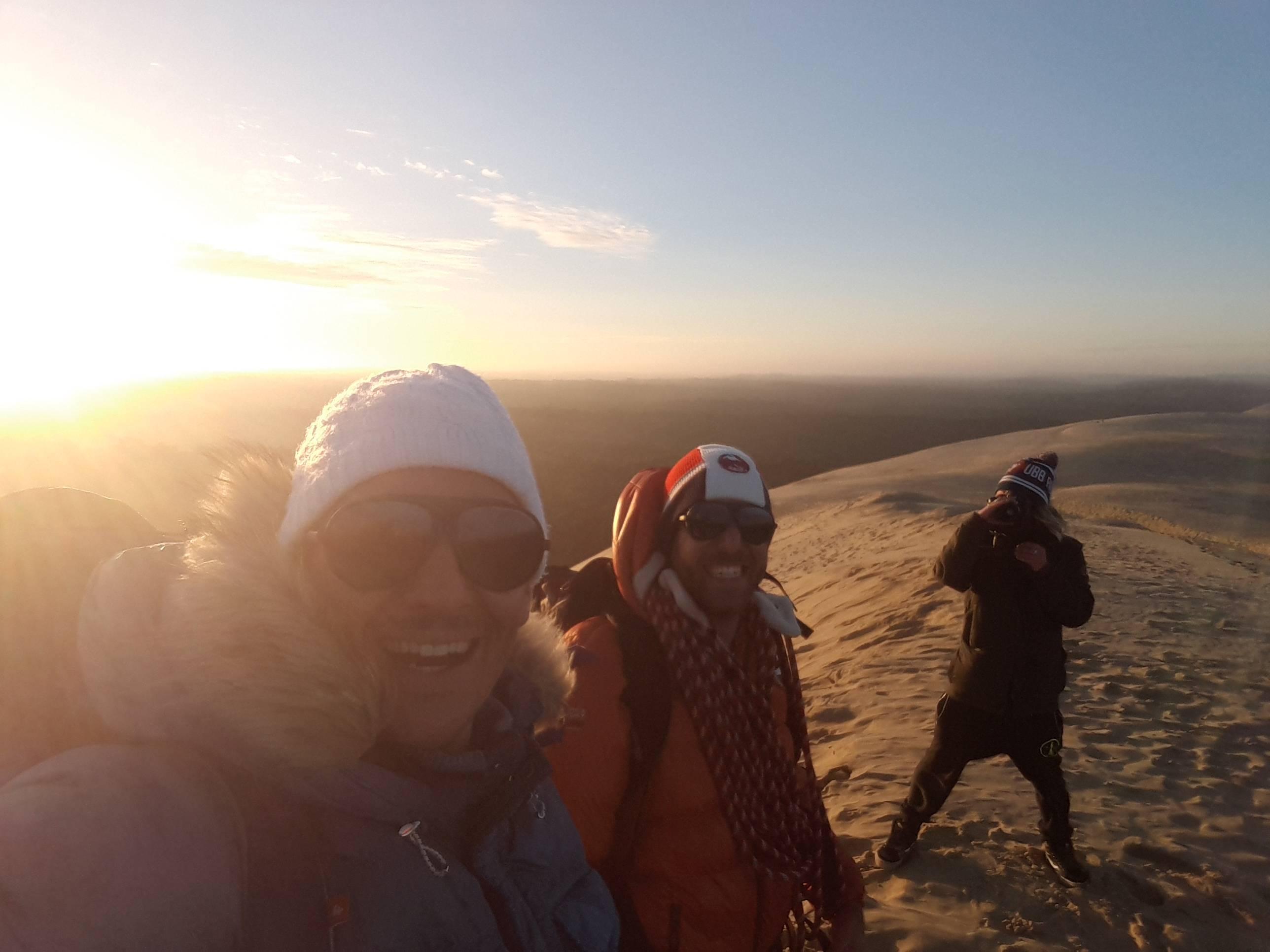 """Photo 1: La dune du pilat... Mais au """"lever du soleil"""""""