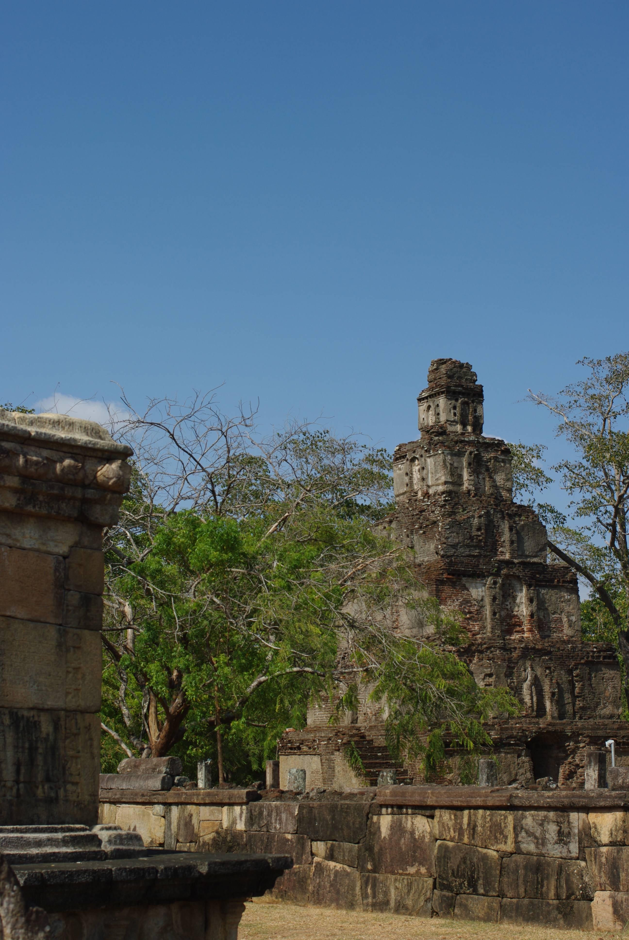 Photo 3: Le site de Polonnaruwa