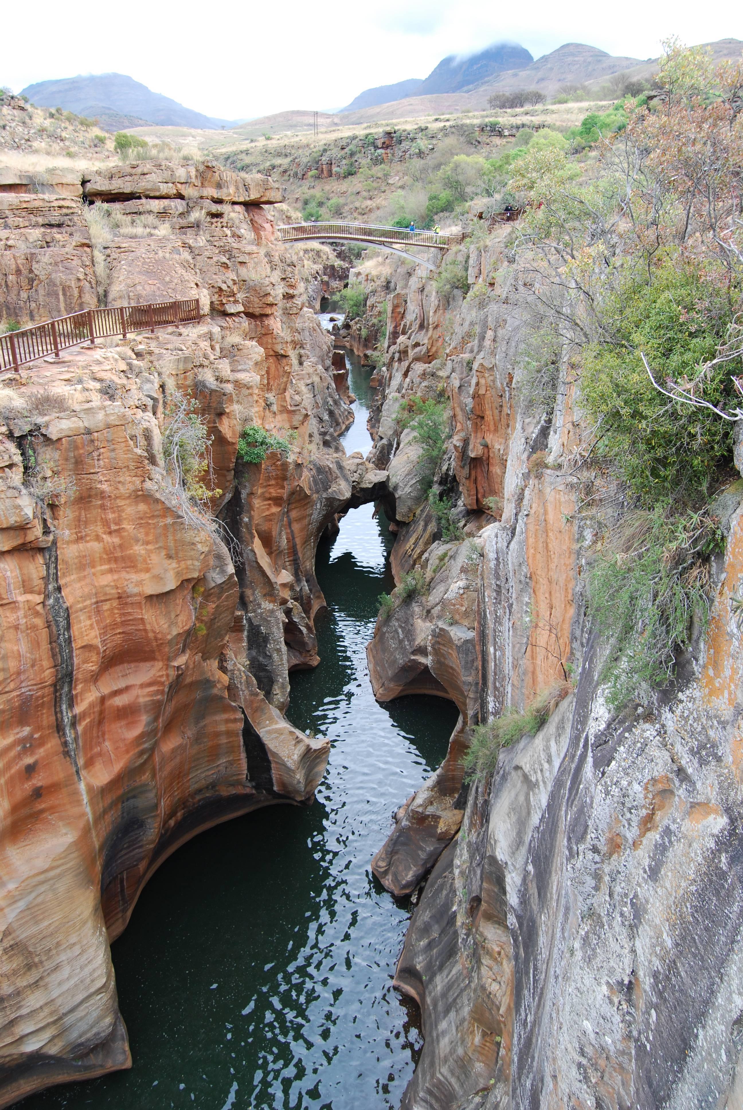 Photo 2: Blyde River Canyon, même sous la pluie