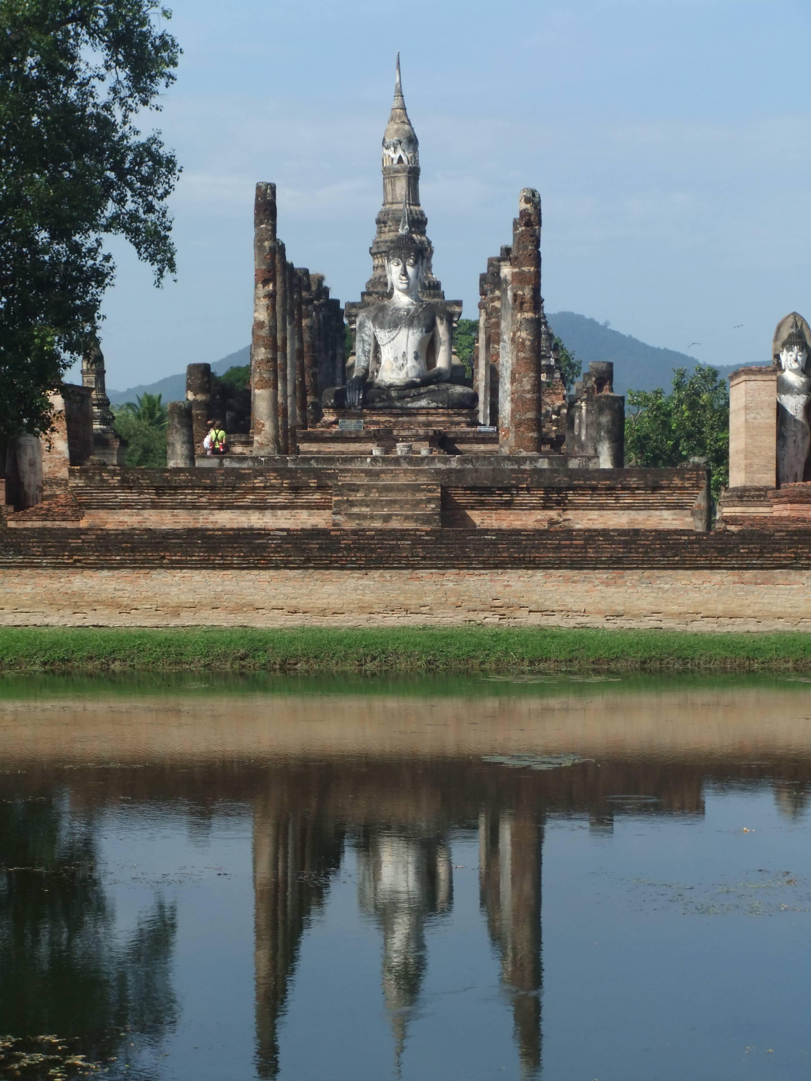 Photo 1: Temples d'Ayutthaya