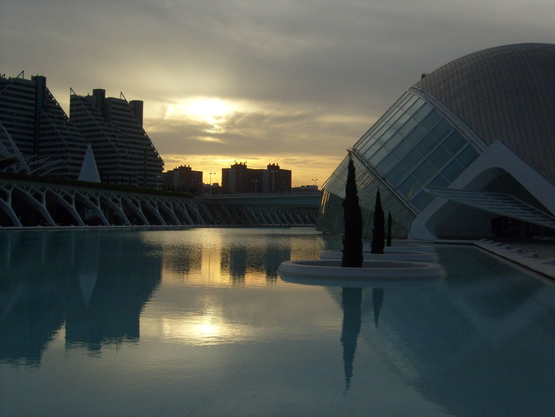 Photo 1: Balade au Turia, cité des arts et des sciences