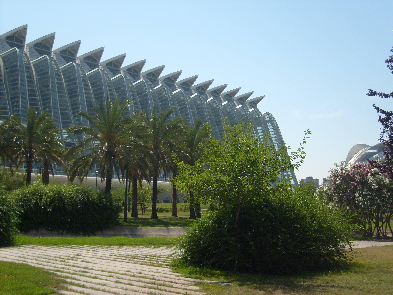 Photo 2: Balade au Turia, cité des arts et des sciences