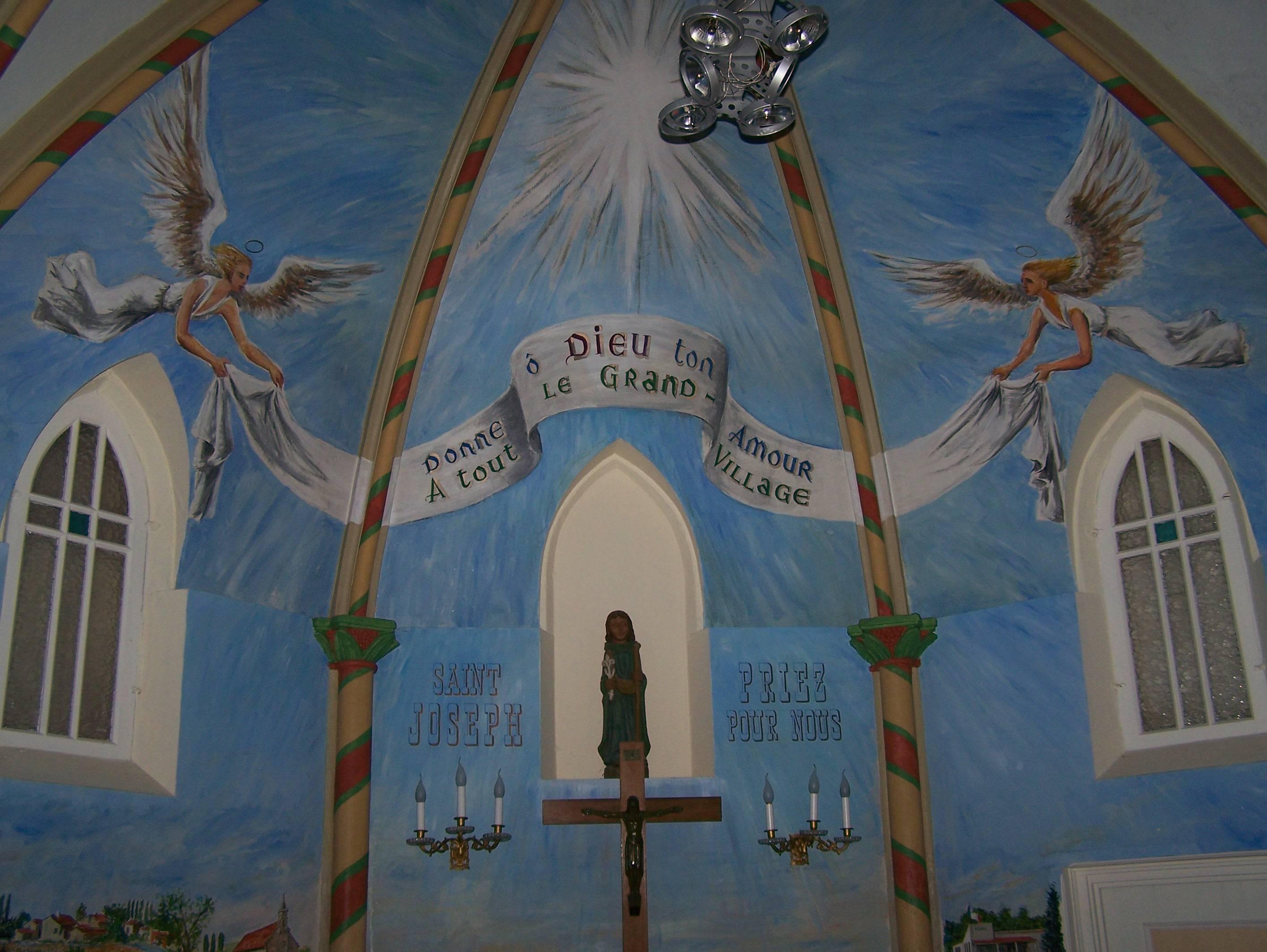 Photo 2: La chapelle de Grand Village