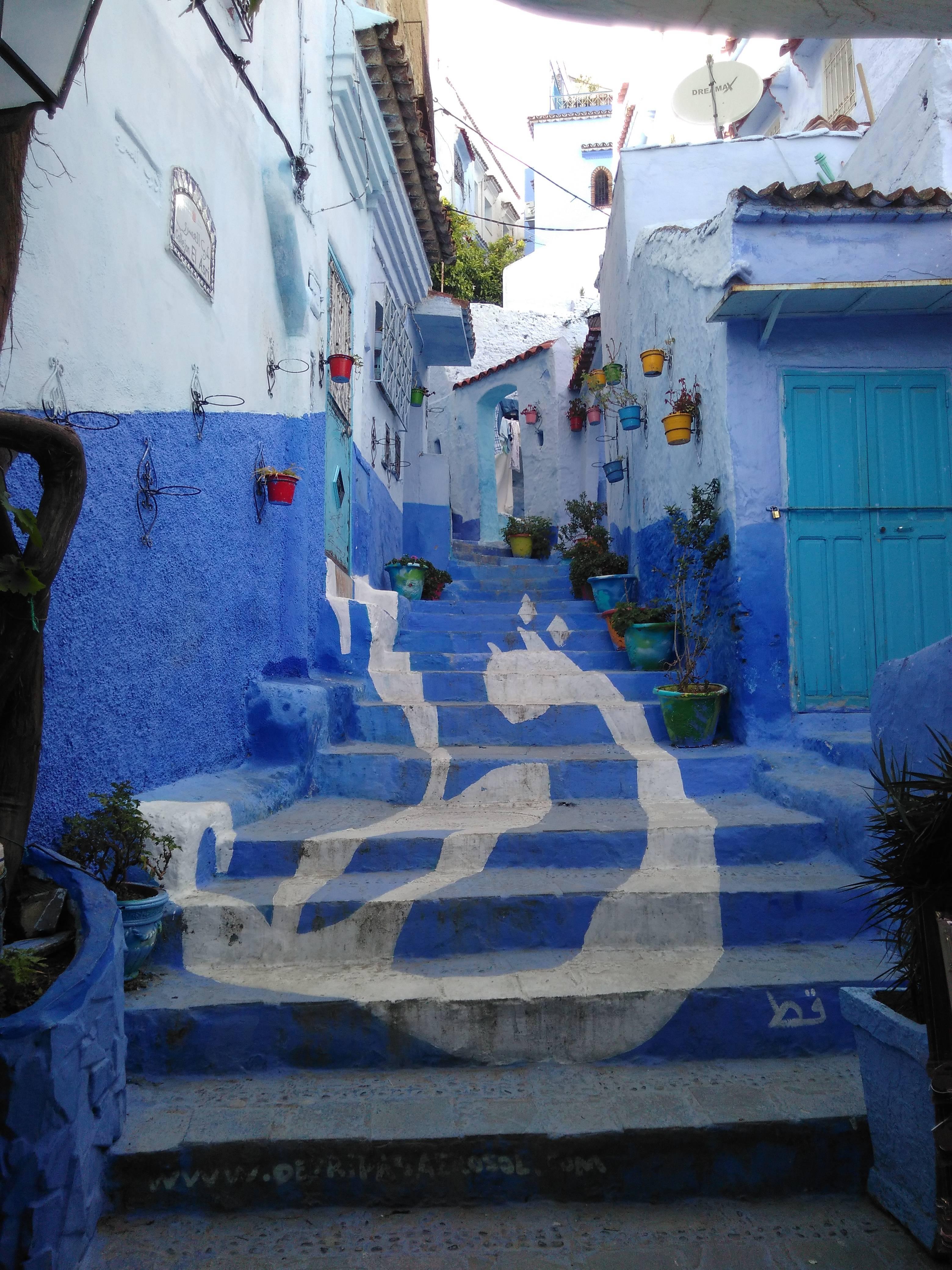 Photo 2: Chefchaouen, la ville bleue du Maroc !