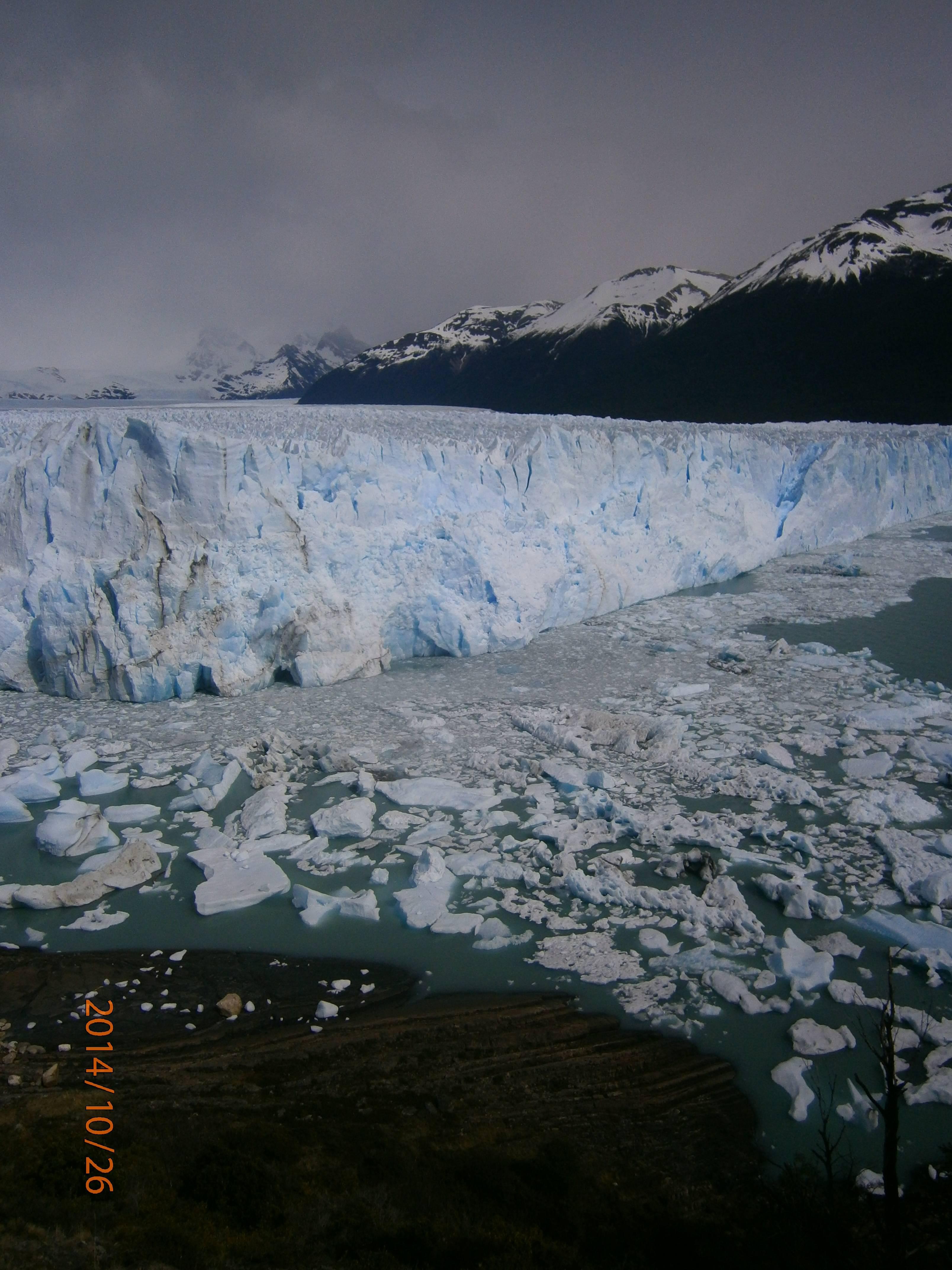 Photo 3: El calafate, glacier Perito Moreno, Sud de l'Argentine