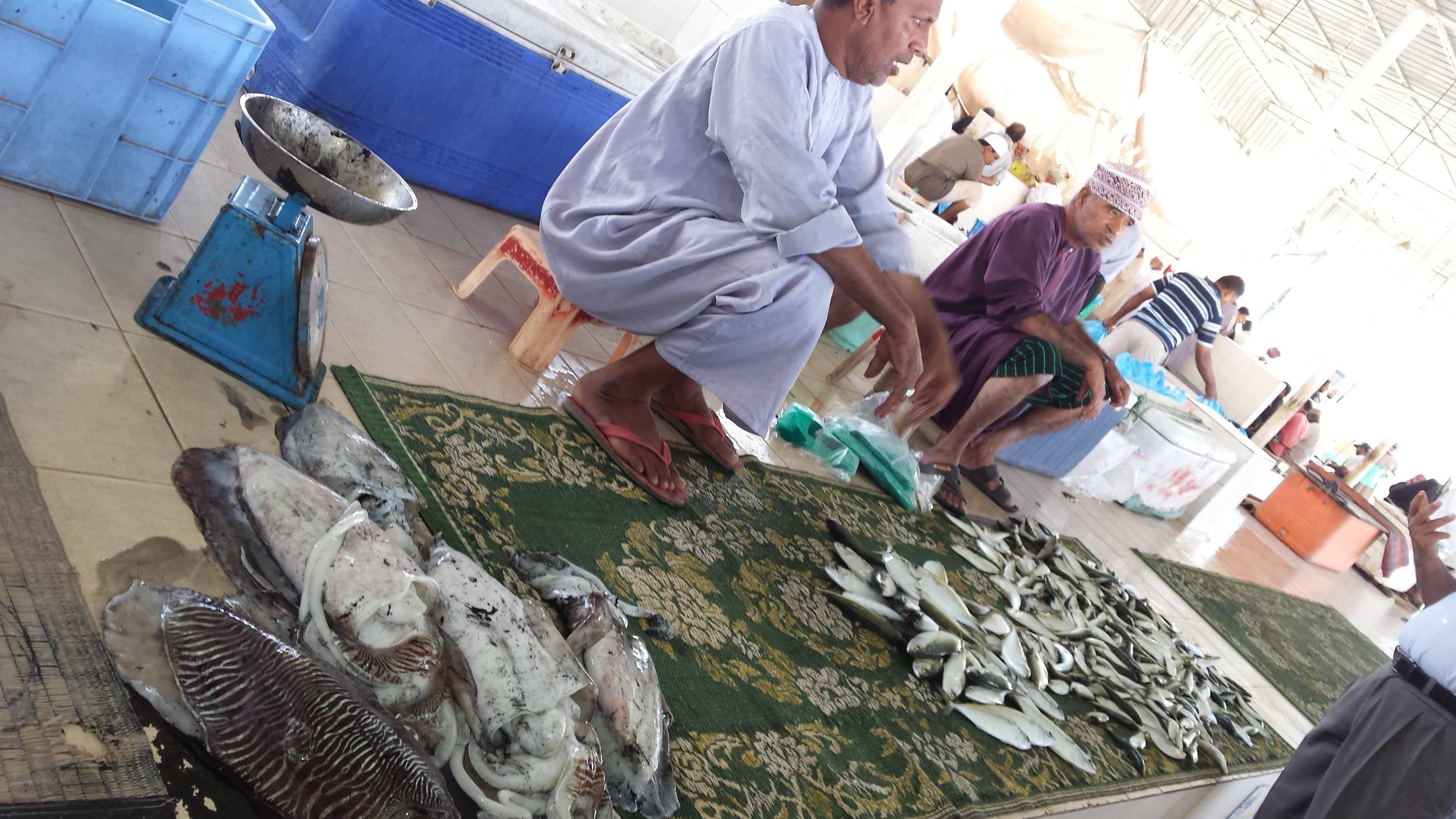 Photo 1: Fish Market de Mascate