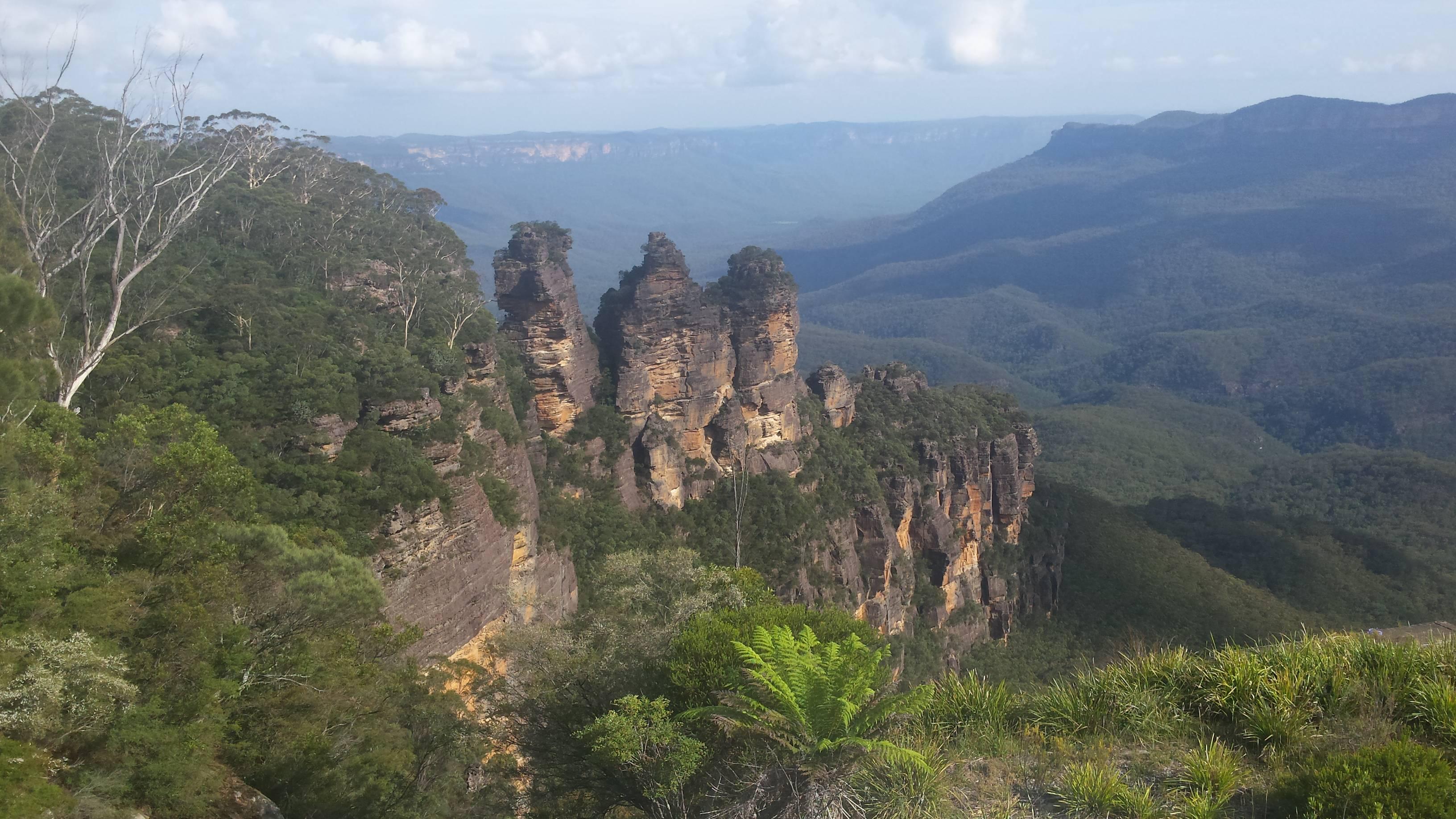 Photo 1: Les Blue Mountains. Un Grand bol d'air frais à deux pas de Sydney !