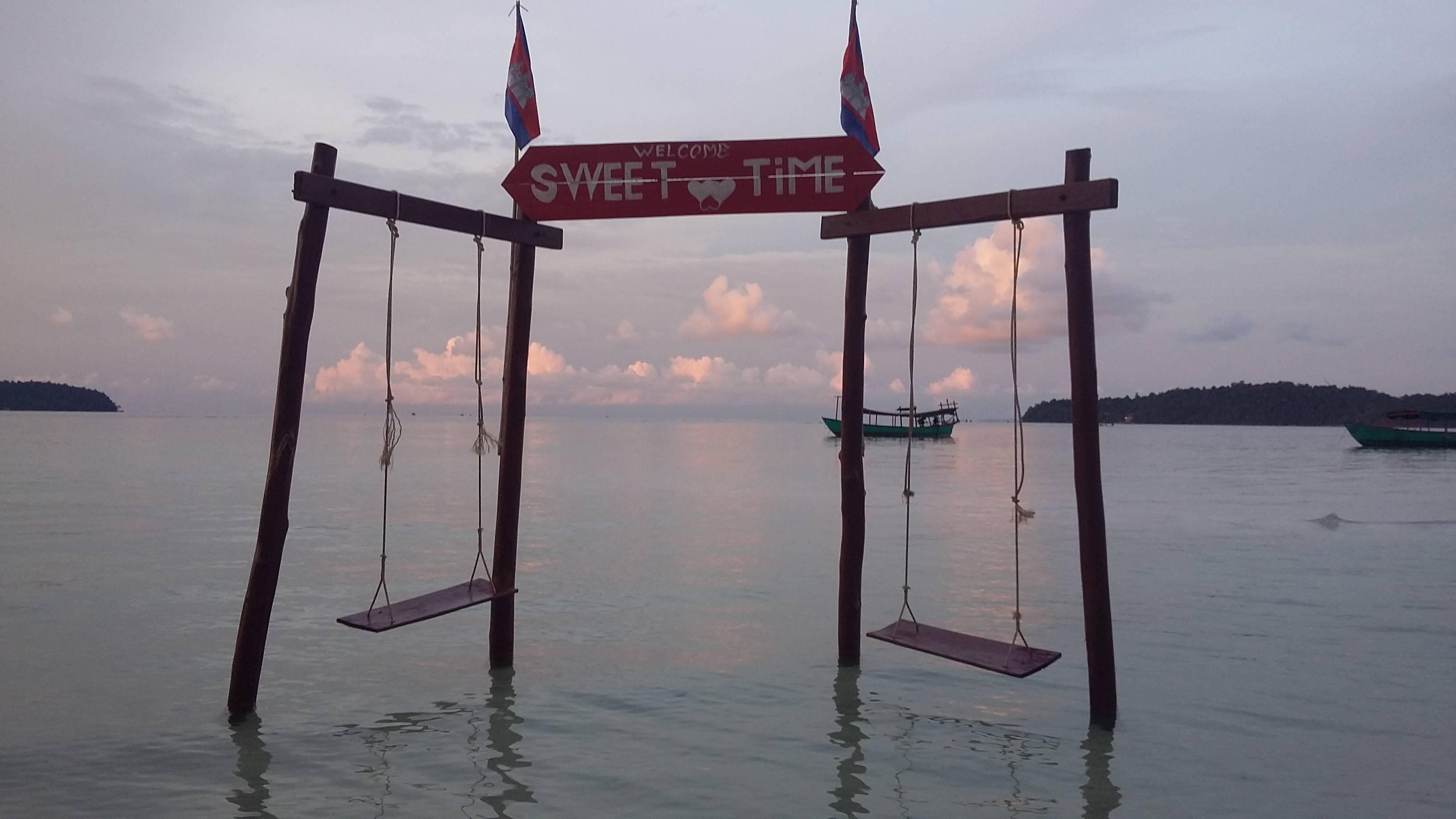 Photo 1: Une ile paradisiaque au Cambodge : Oui ! Koh Rong Sanloem
