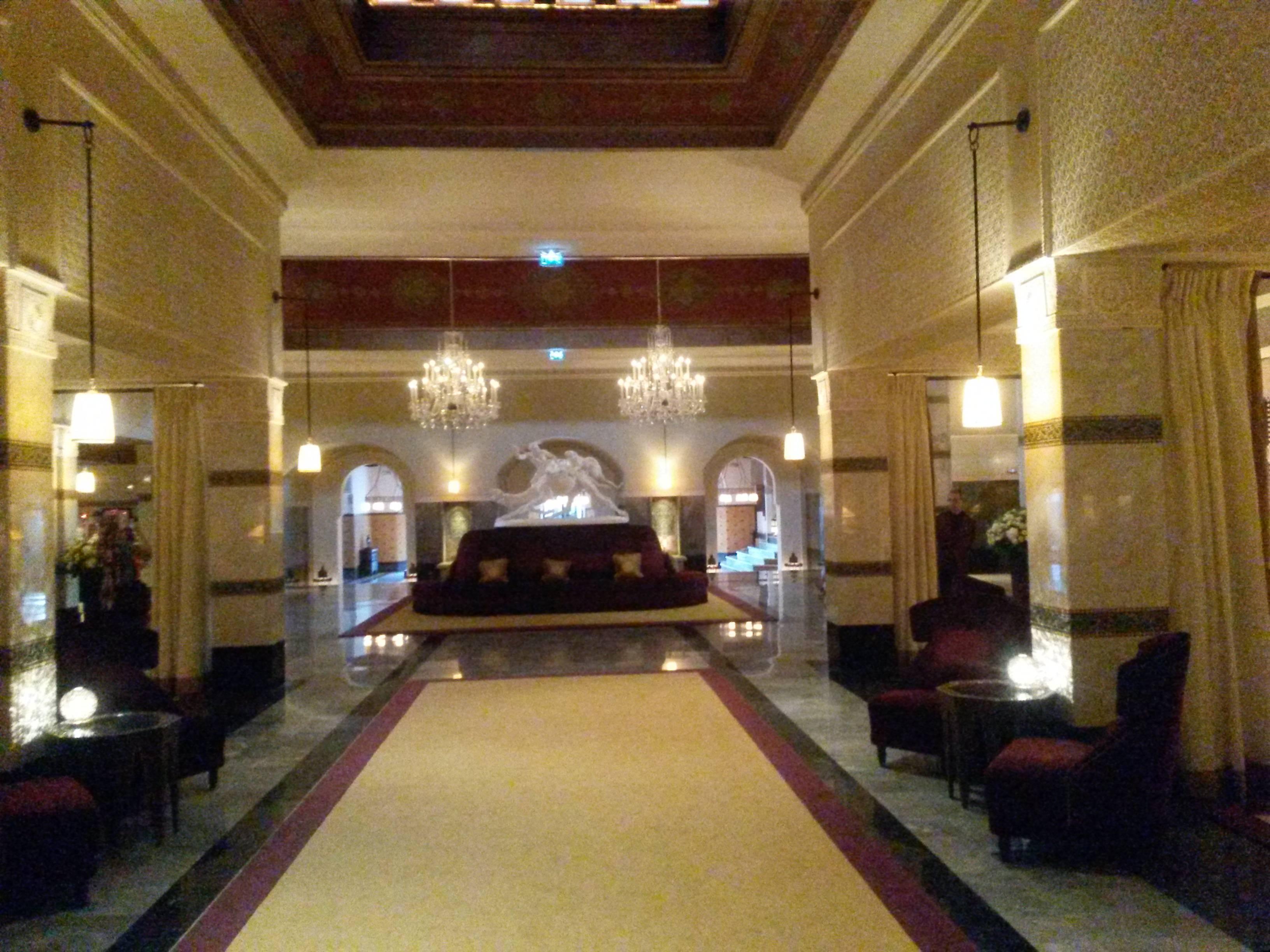 Photo 2: Un thé à l'hôtel Mamounia, cher, mais à faire!