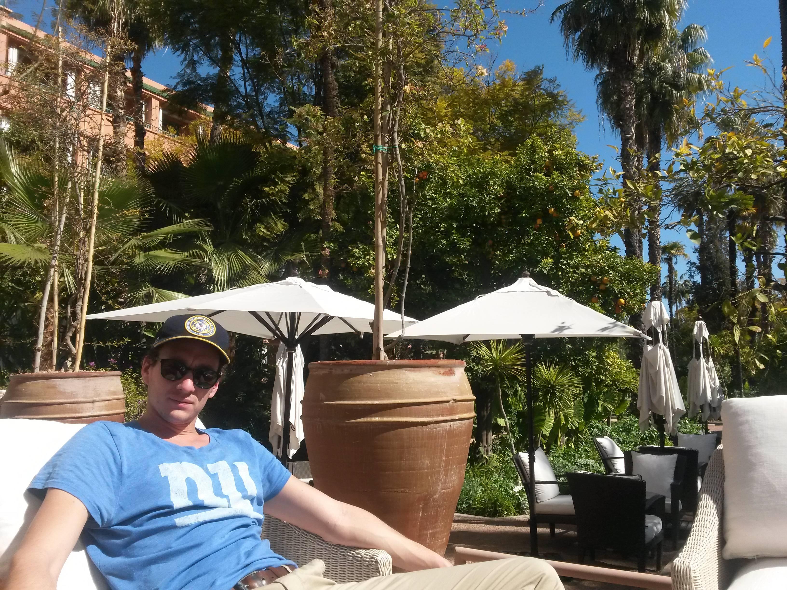 Photo 1: Un thé à l'hôtel Mamounia, cher, mais à faire!