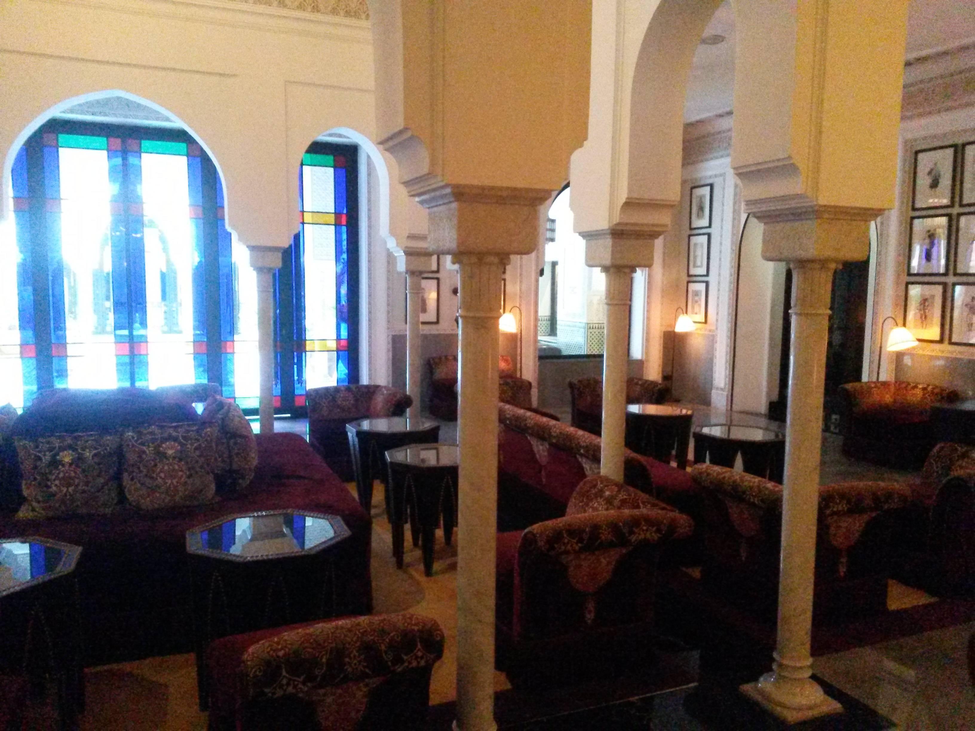 Photo 3: Un thé à l'hôtel Mamounia, cher, mais à faire!