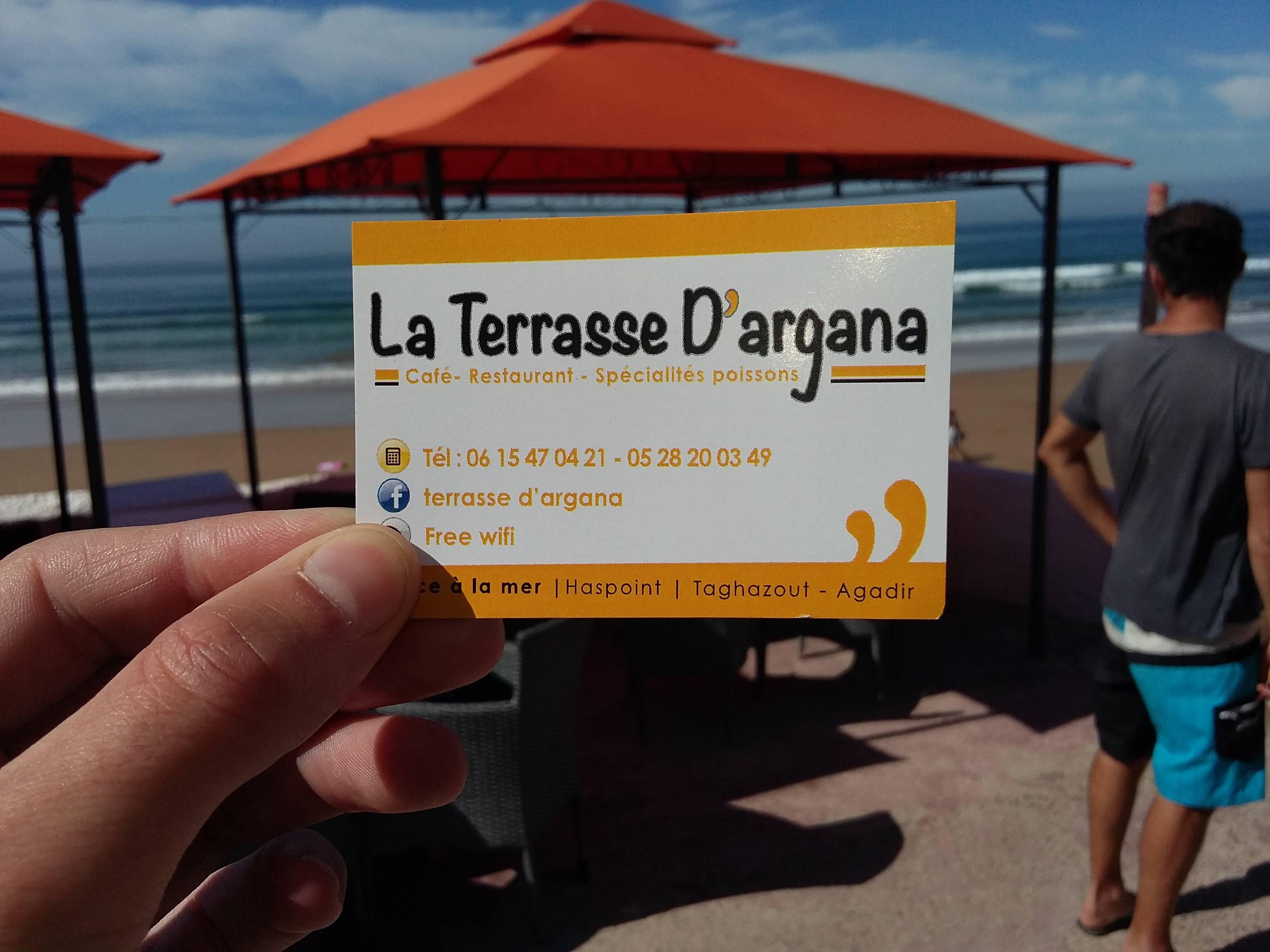 Photo 3: Un petit dej face à l'océan à taghazout