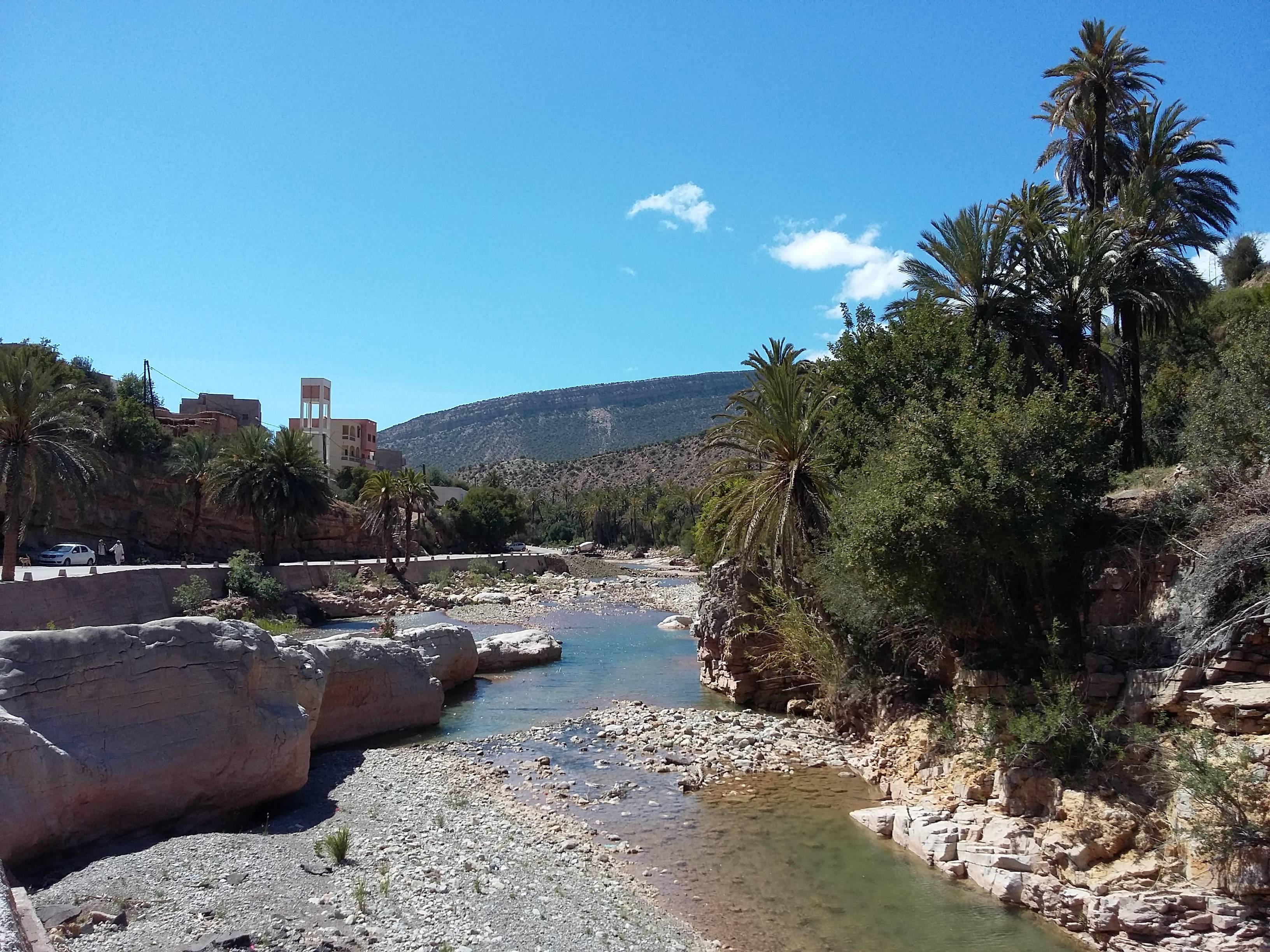 Photo 1: Paradise valley, une promenade dans le lit de la rivière