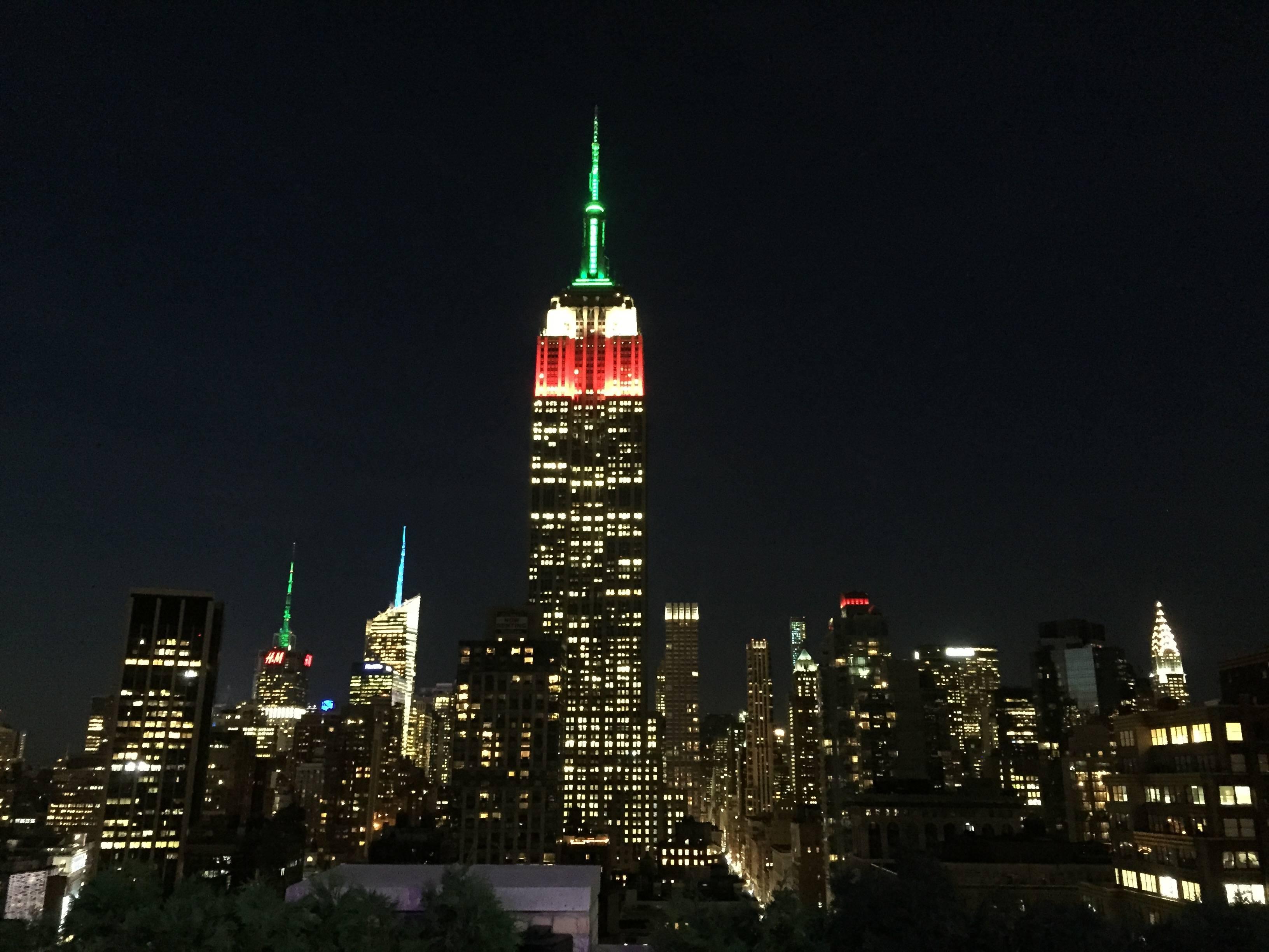 Photo 1: Une terrasse et une vue imprenable sur New York