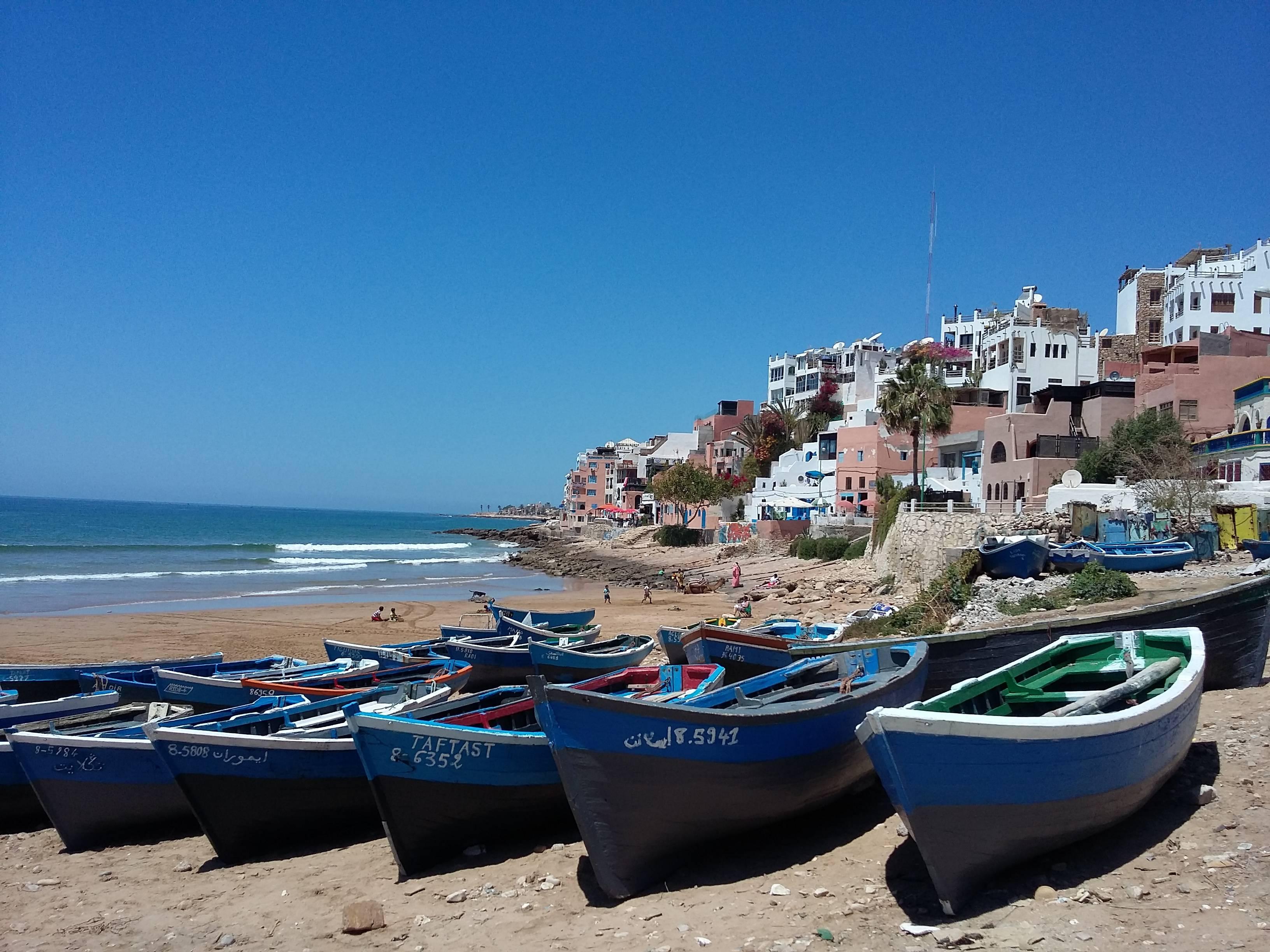 Photo 1: Le village de pêcheur pour surfeurs