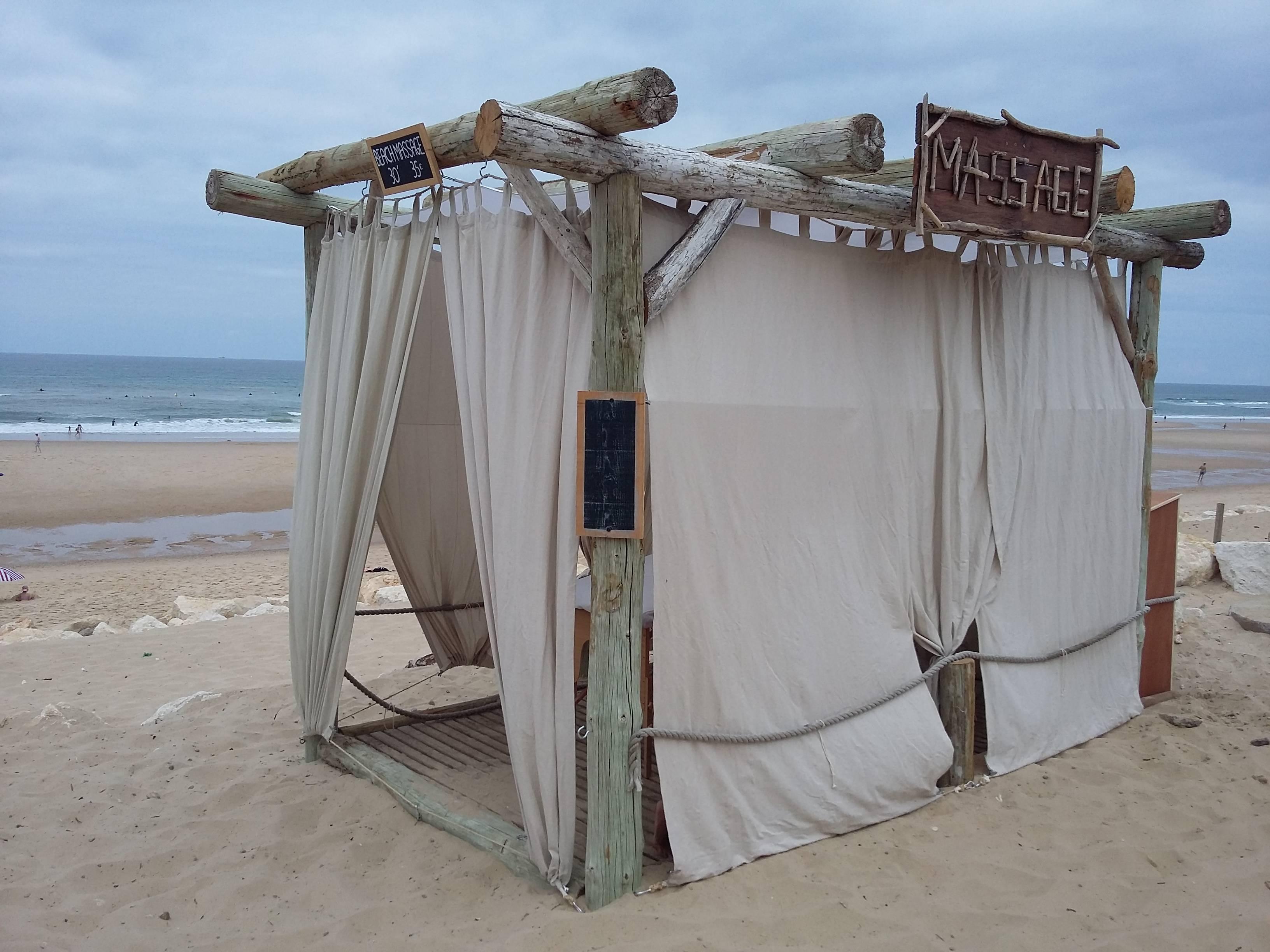 Photo 1: Massage face à l'océan à Lacanau