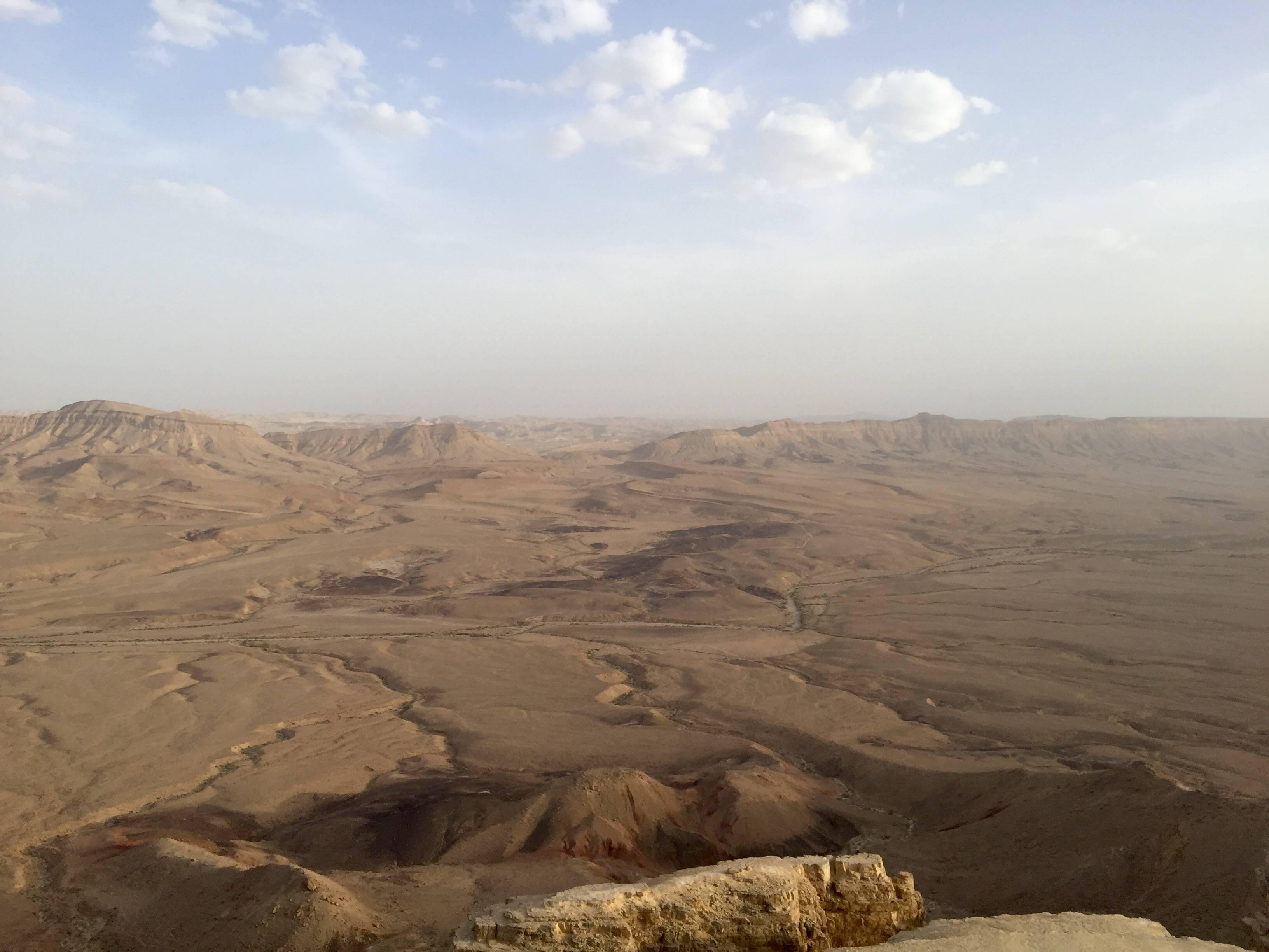 Photo 2: Au cœur du désert du Neguev, en Israel