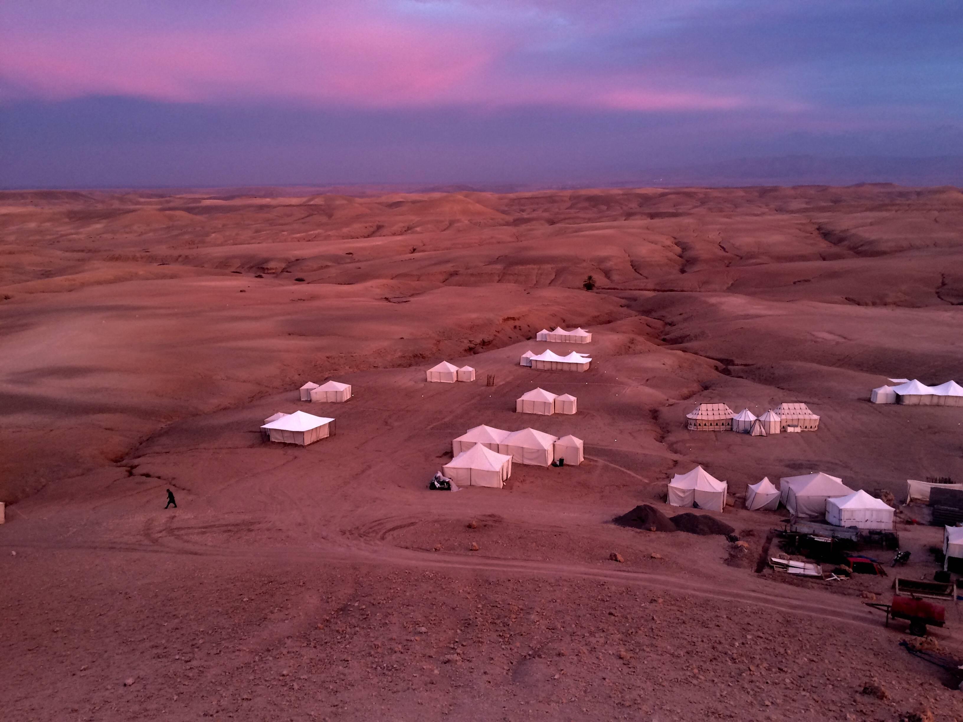 Photo 2: Une nuit dans le désert
