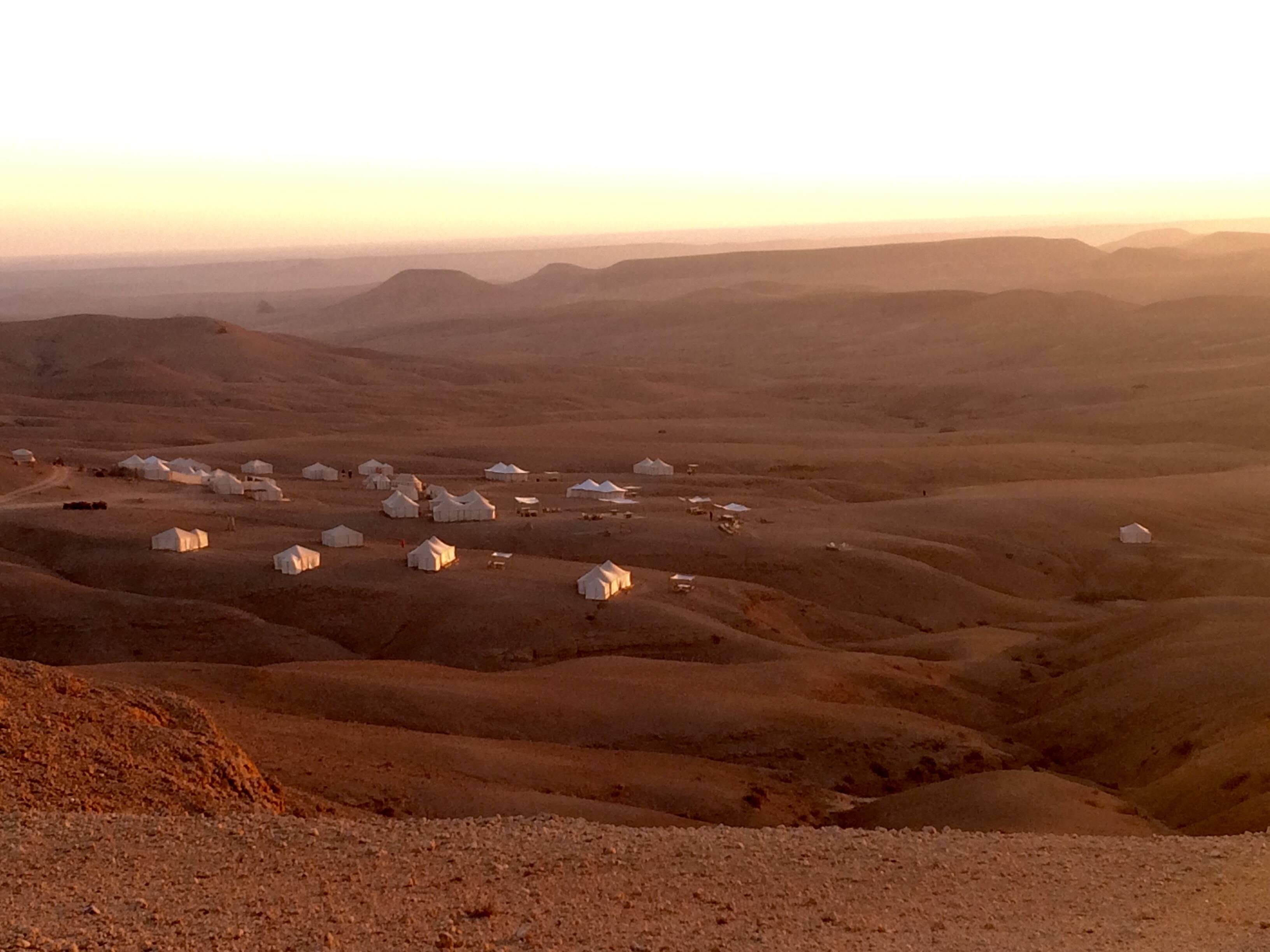 Photo 3: Une nuit dans le désert
