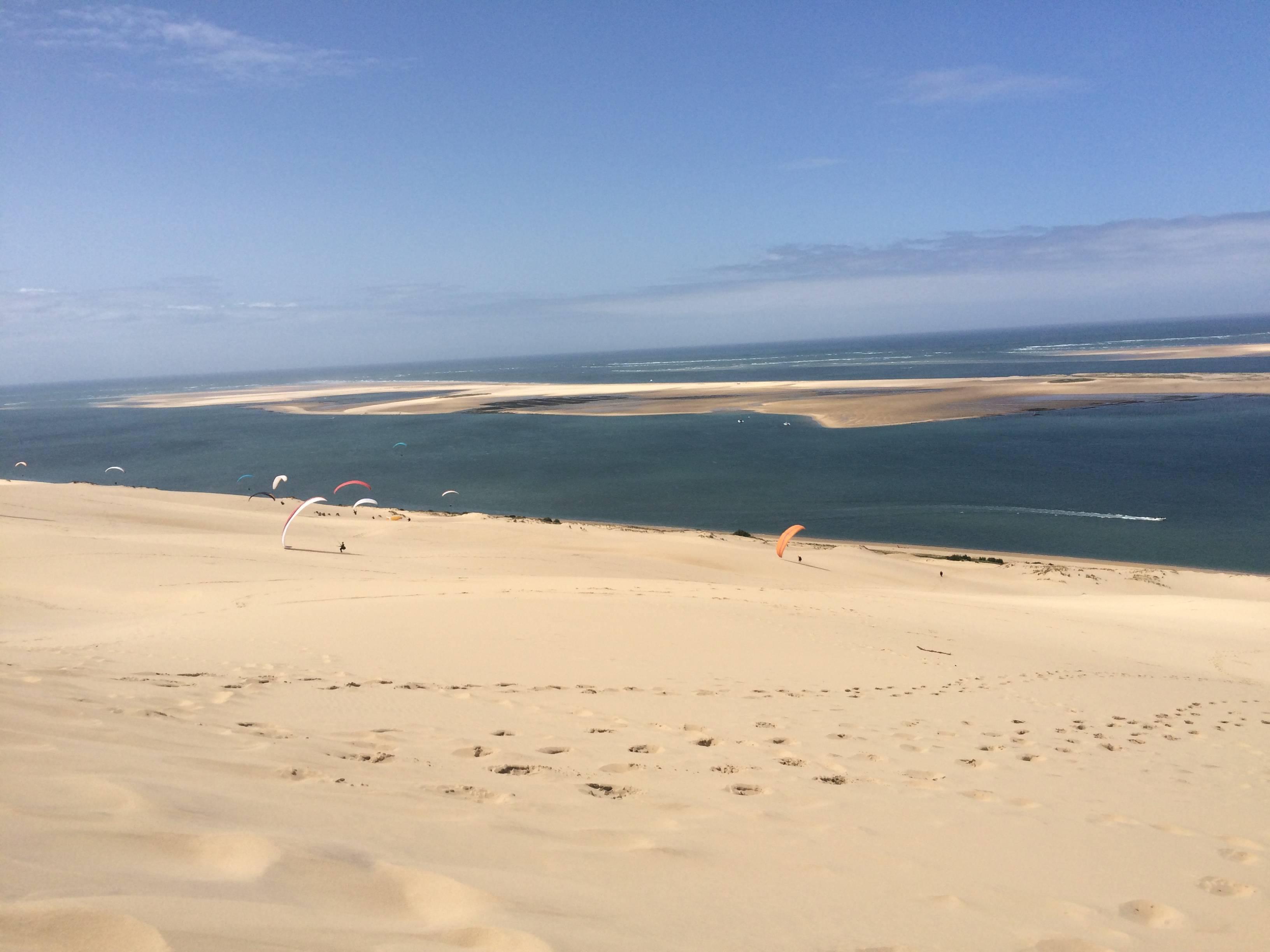 Photo 3: Entre Terre et Mer, sur la plus grande dune..