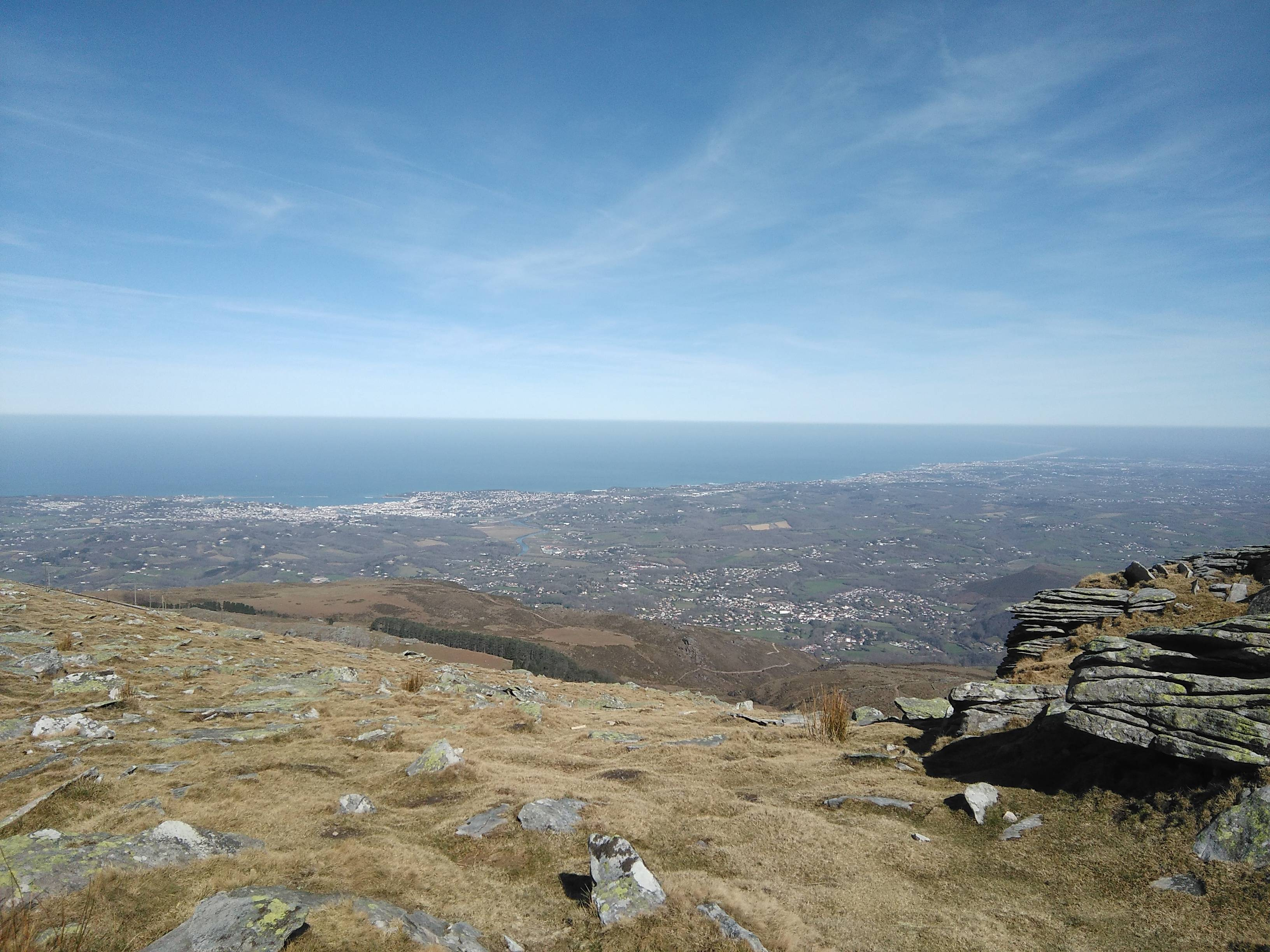 Photo 2: La Rhune, superbe point de vue Basque !