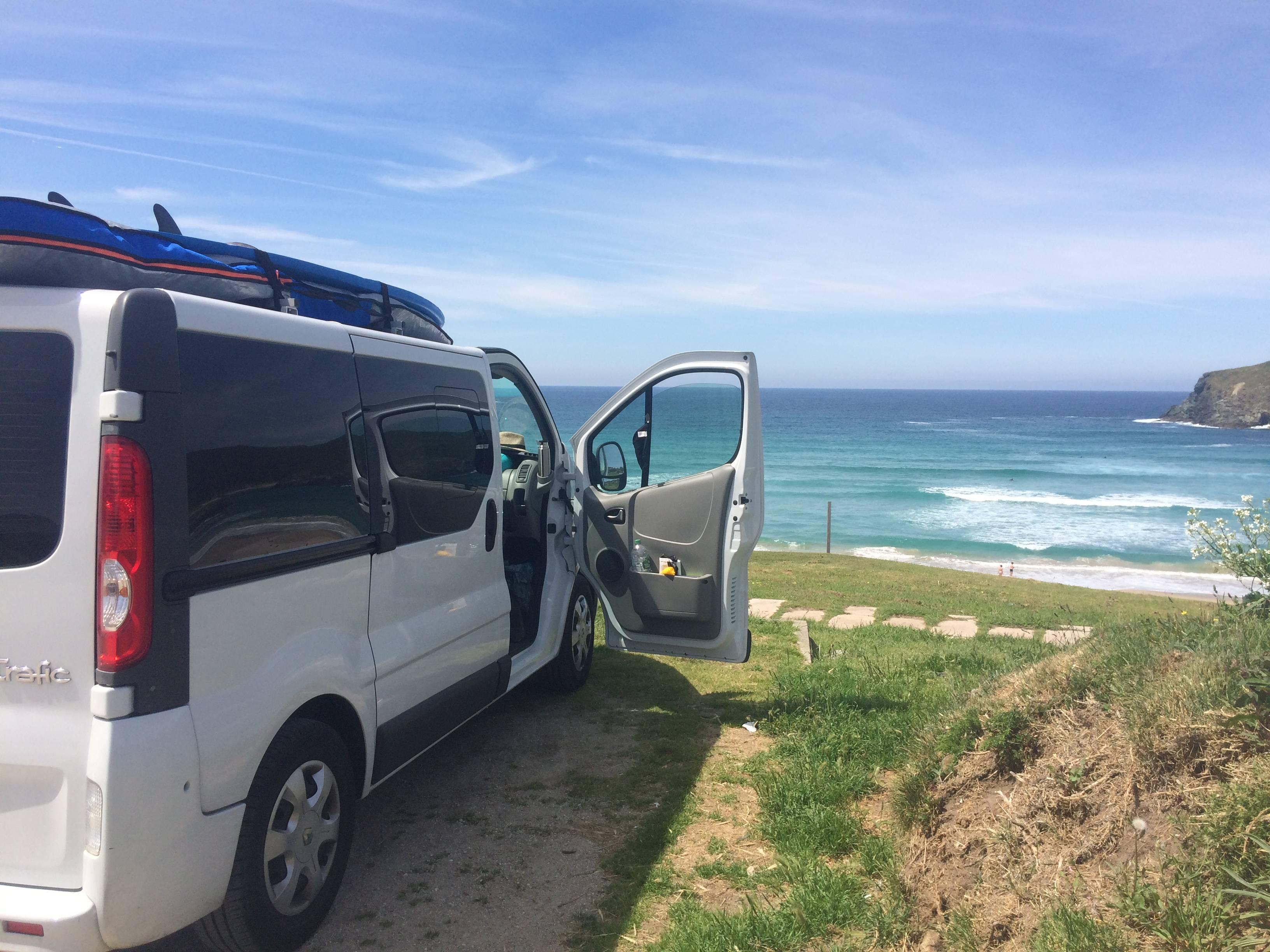 Photo 1: Spot de surf à Pantín en Galice