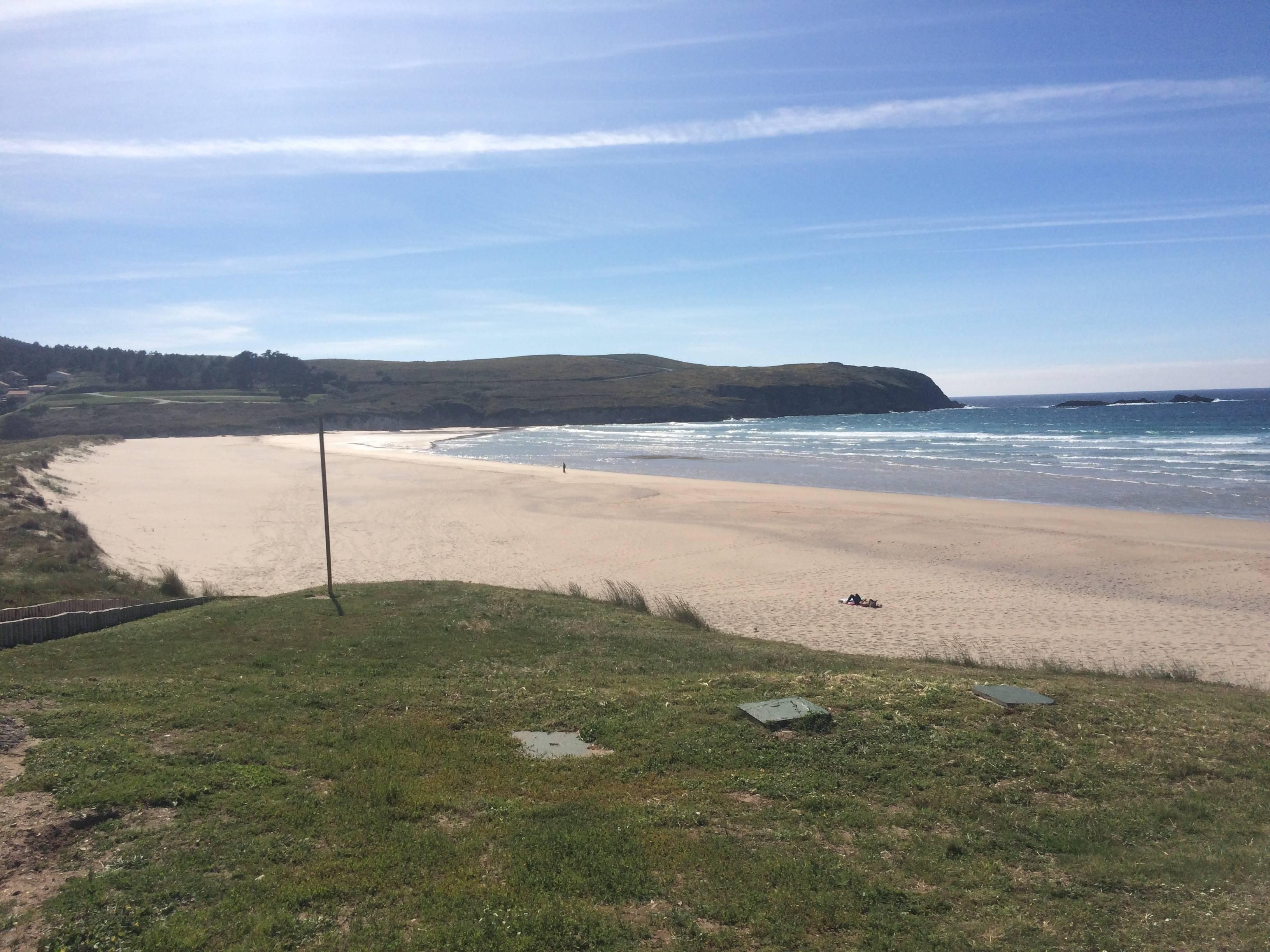 Photo 2: Spot de surf à Pantín en Galice