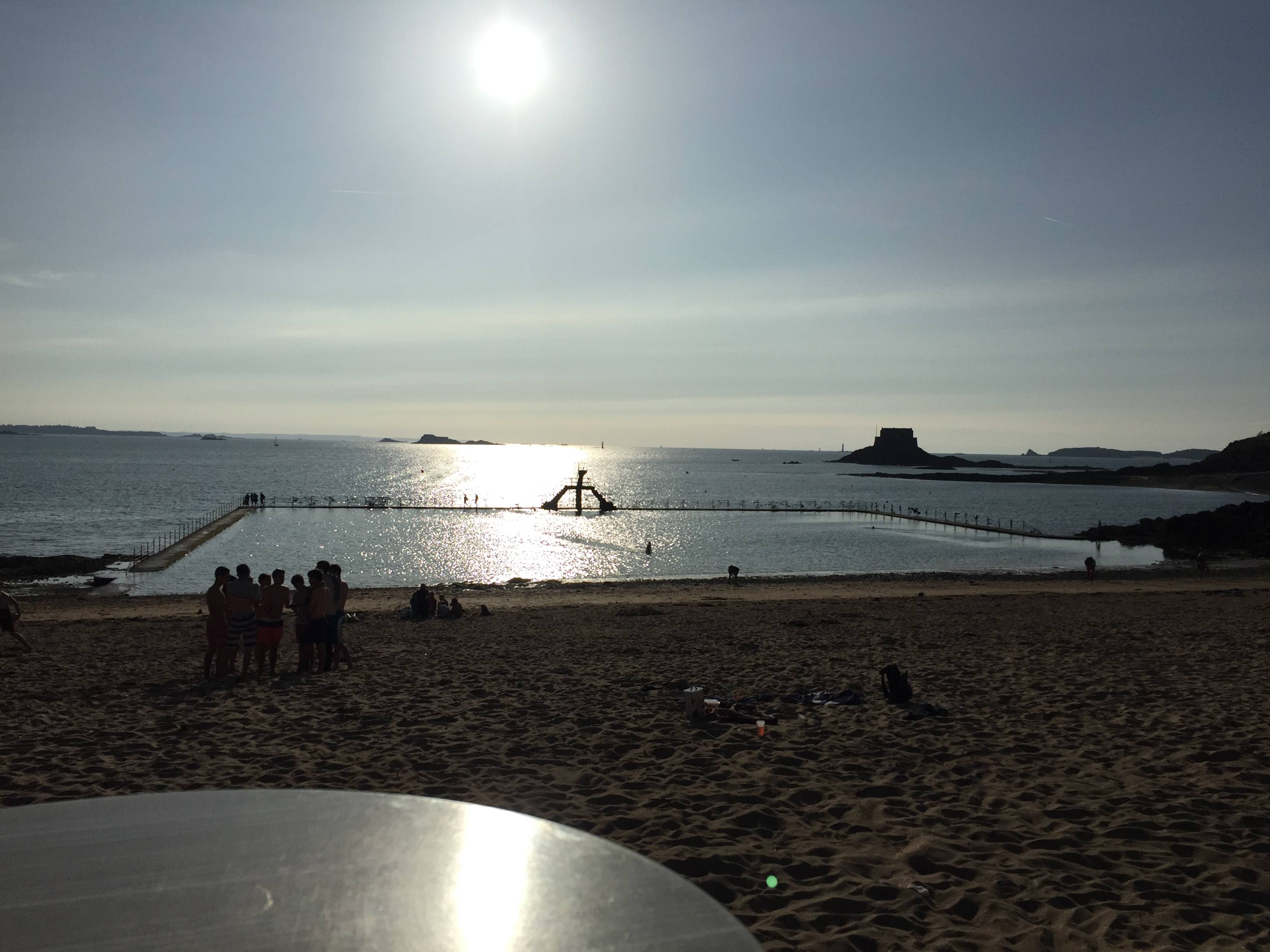 Photo 1: Saint Malo piscine naturelle