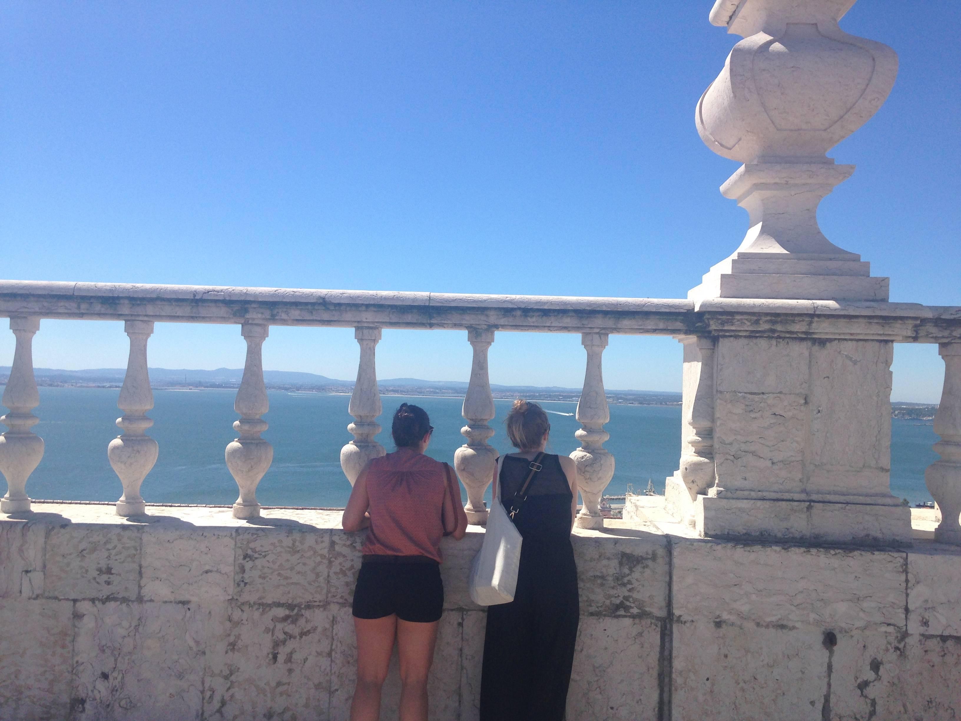 Photo 2: Monter en haut des tours du monastère