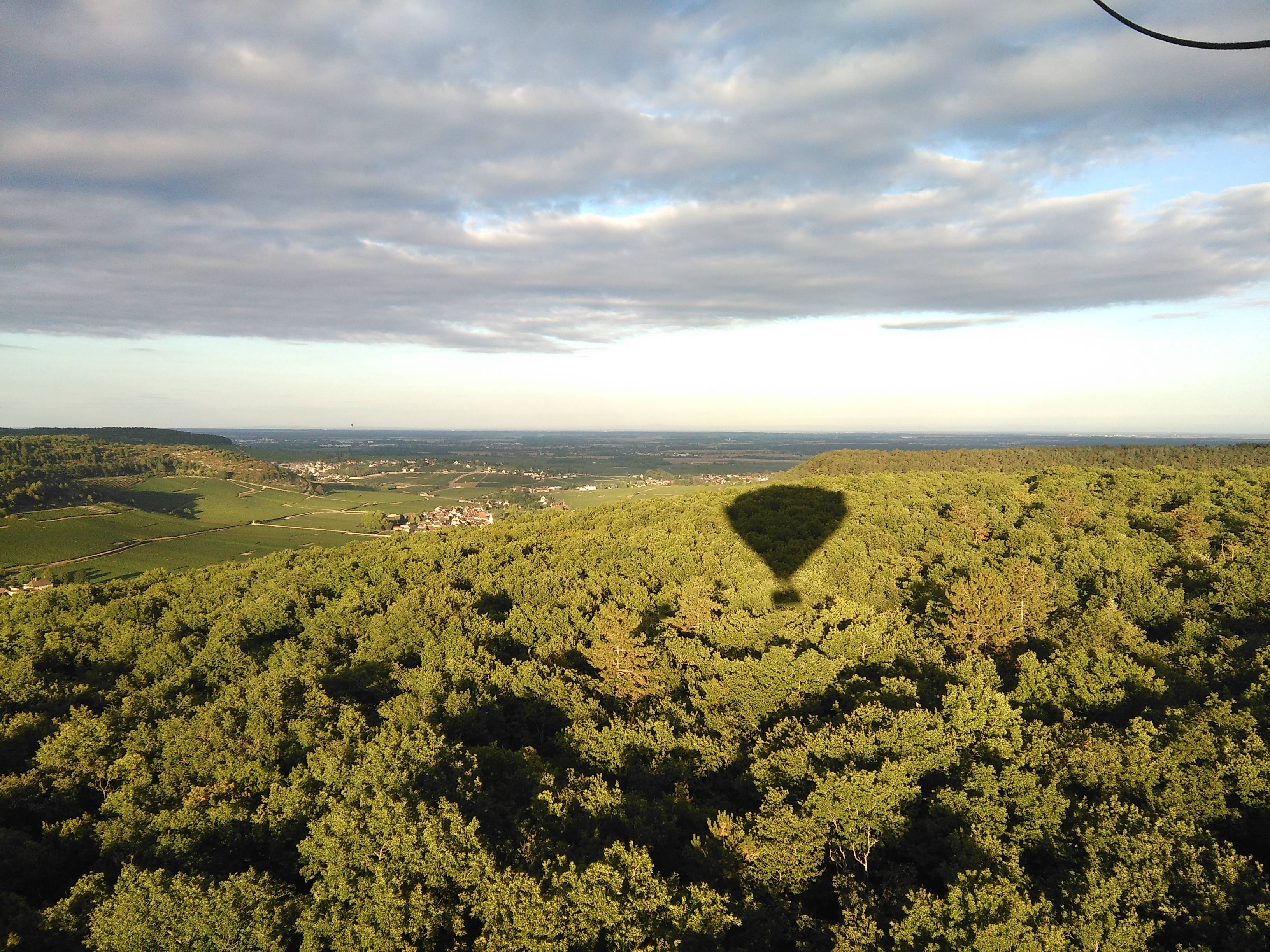 Photo 3: Vol en montgolfière à Beaune !!!