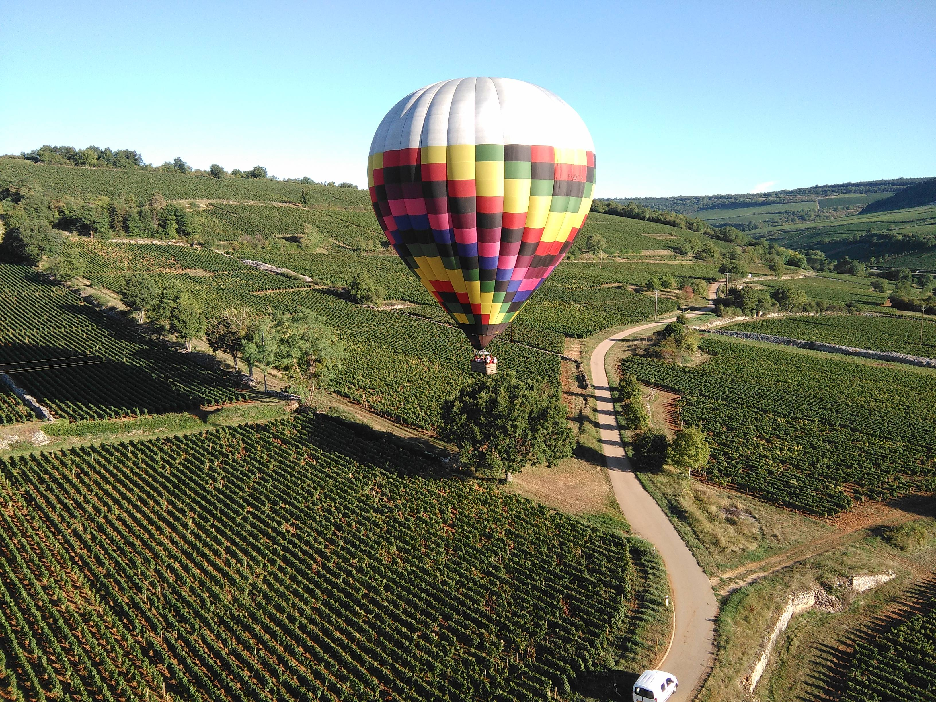 Photo 1: Vol en montgolfière à Beaune !!!