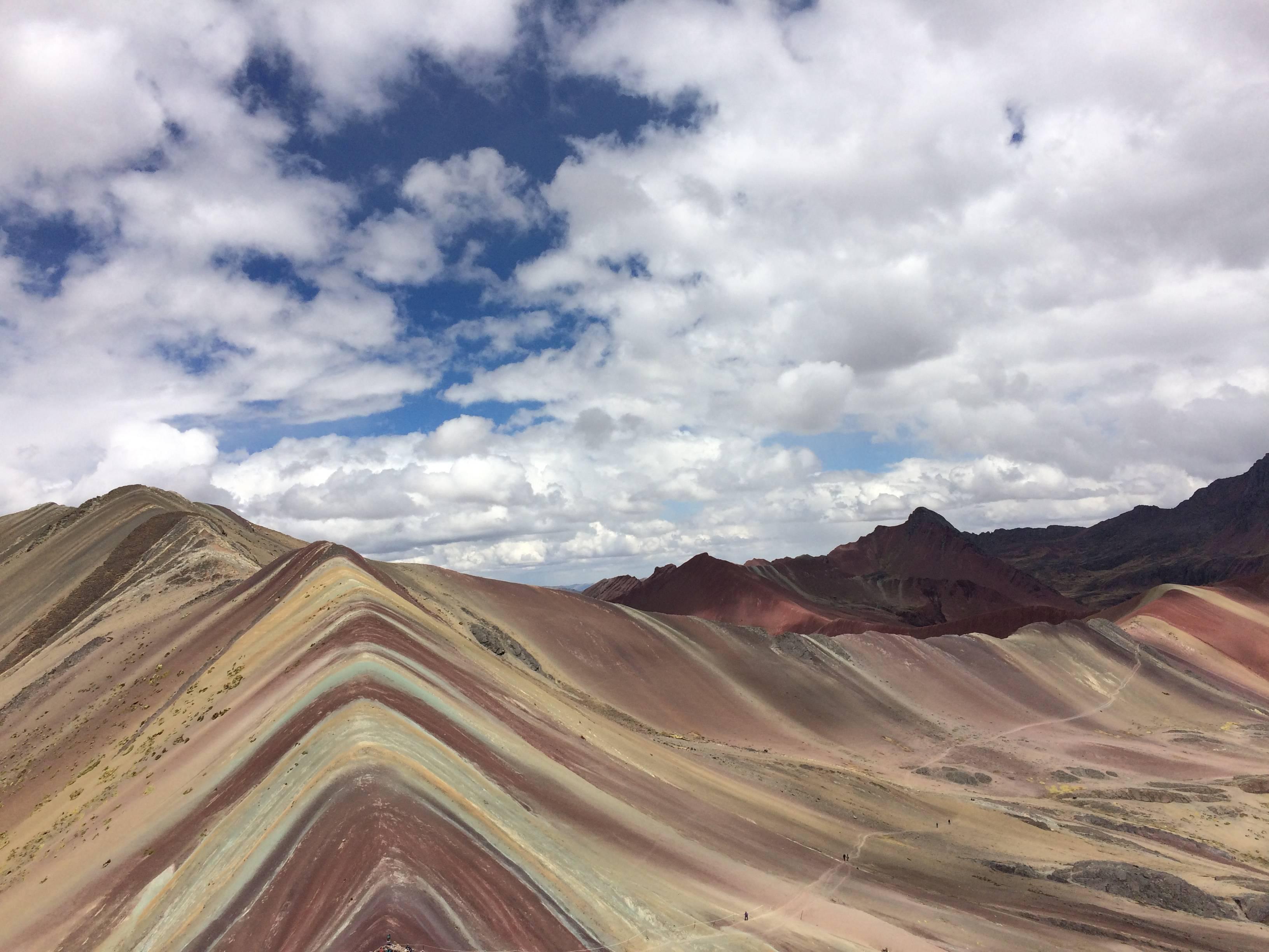 Photo 1: the Rainbow Mountain