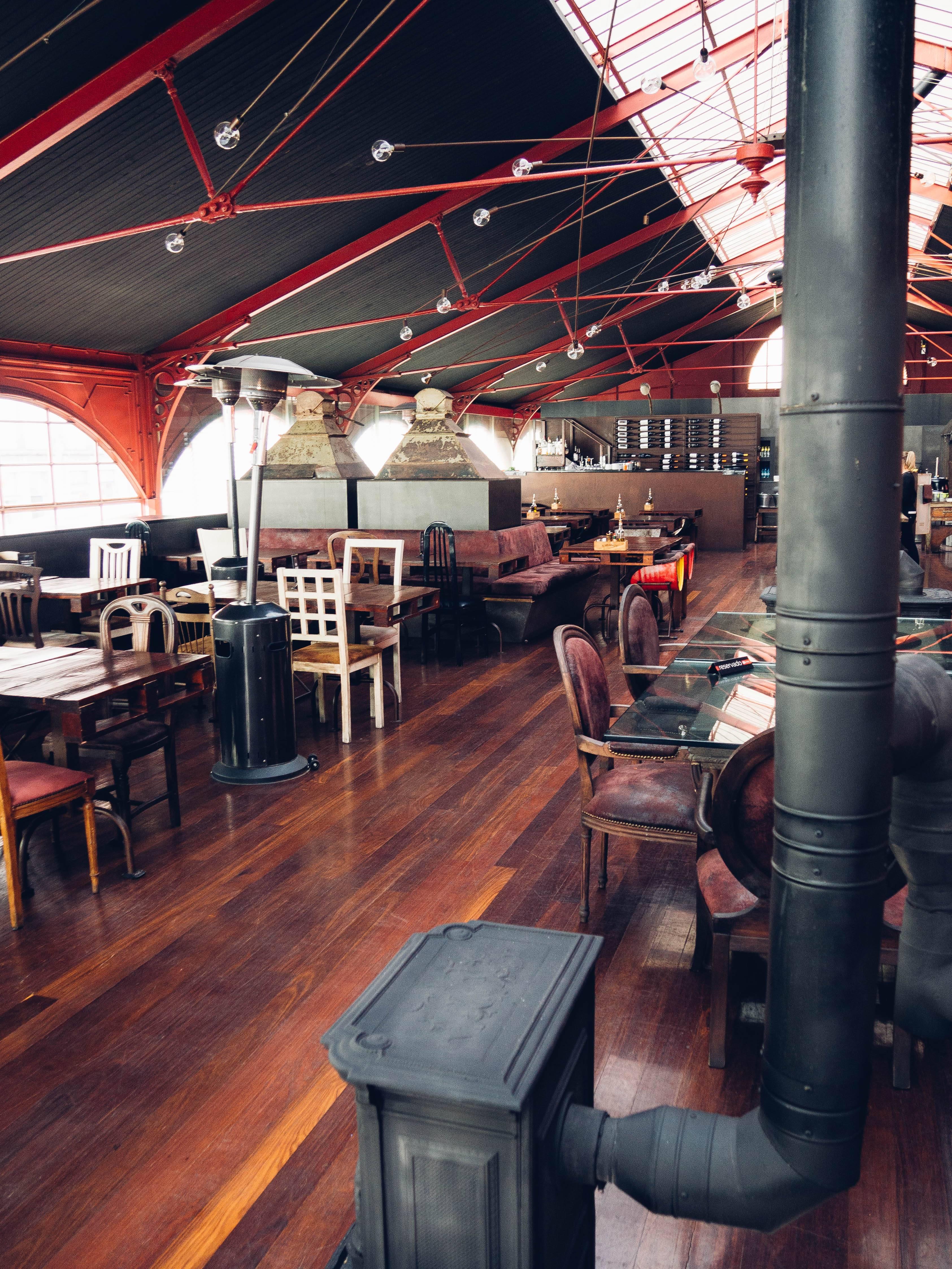 Photo 2: O Mercado, le restaurant industriel