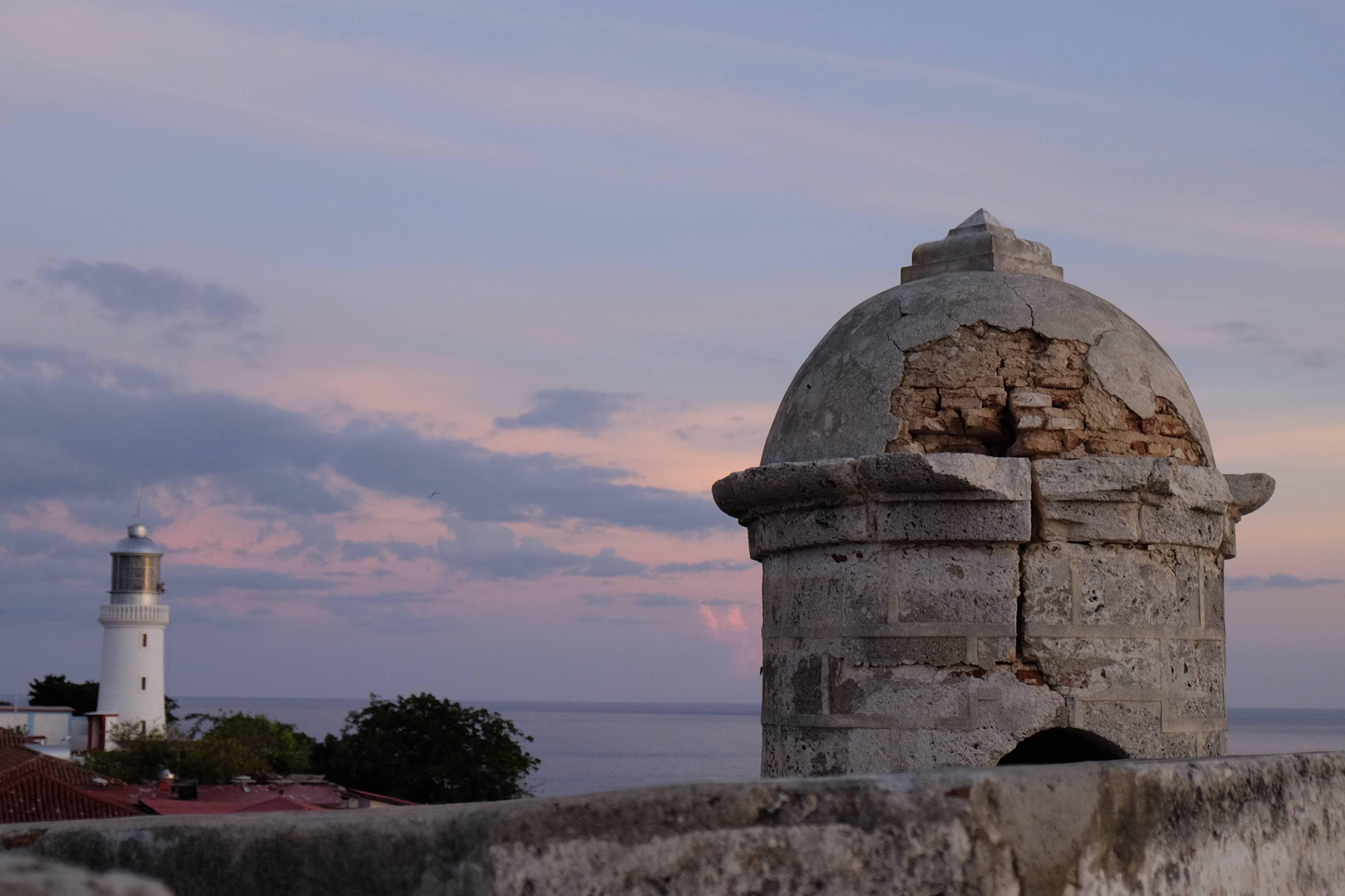 Photo 3: El Morro, mais au coucher de soleil !