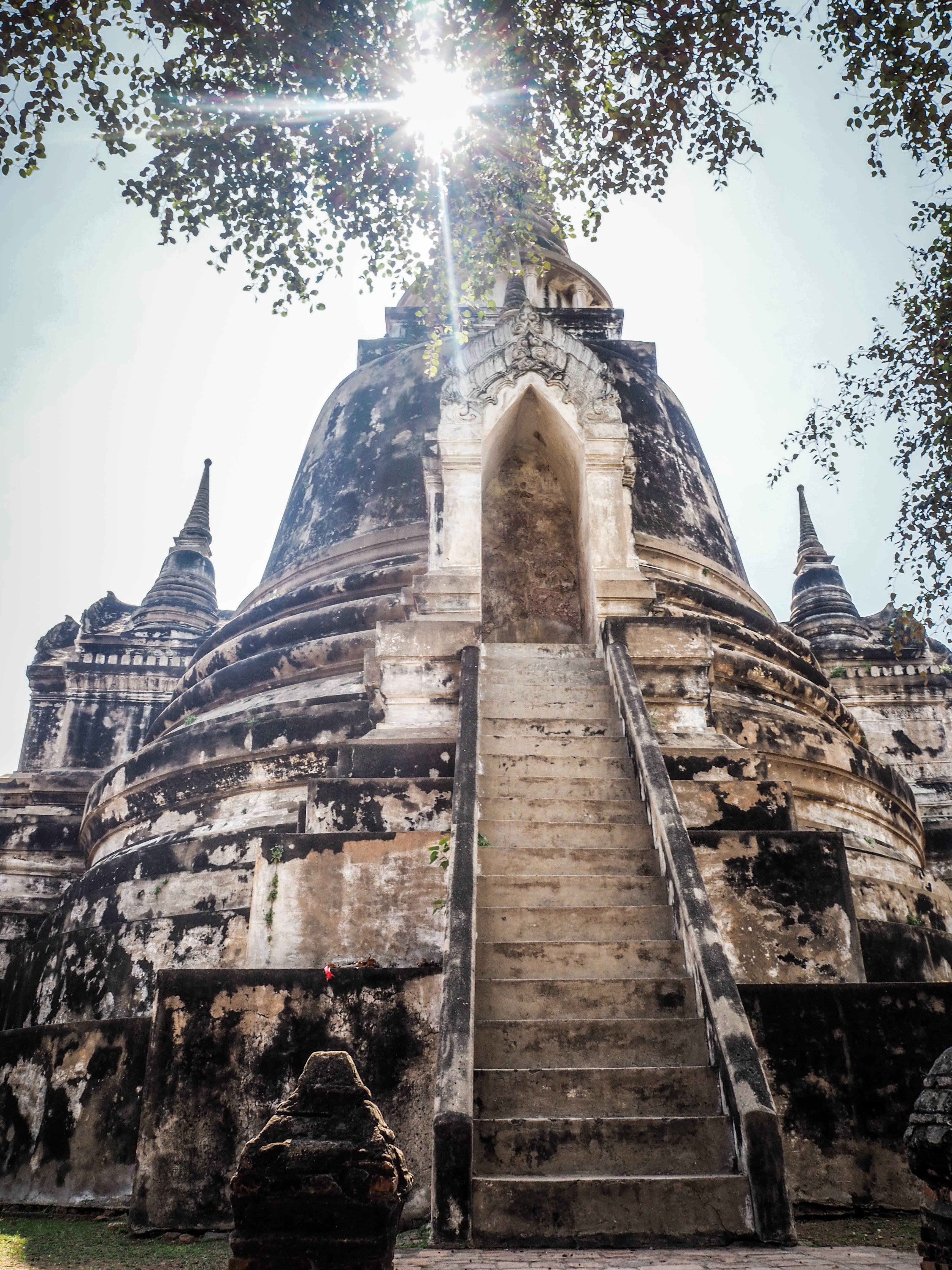 Photo 1: Flâner parmi les Temples d'Ayutthaya -Thailande