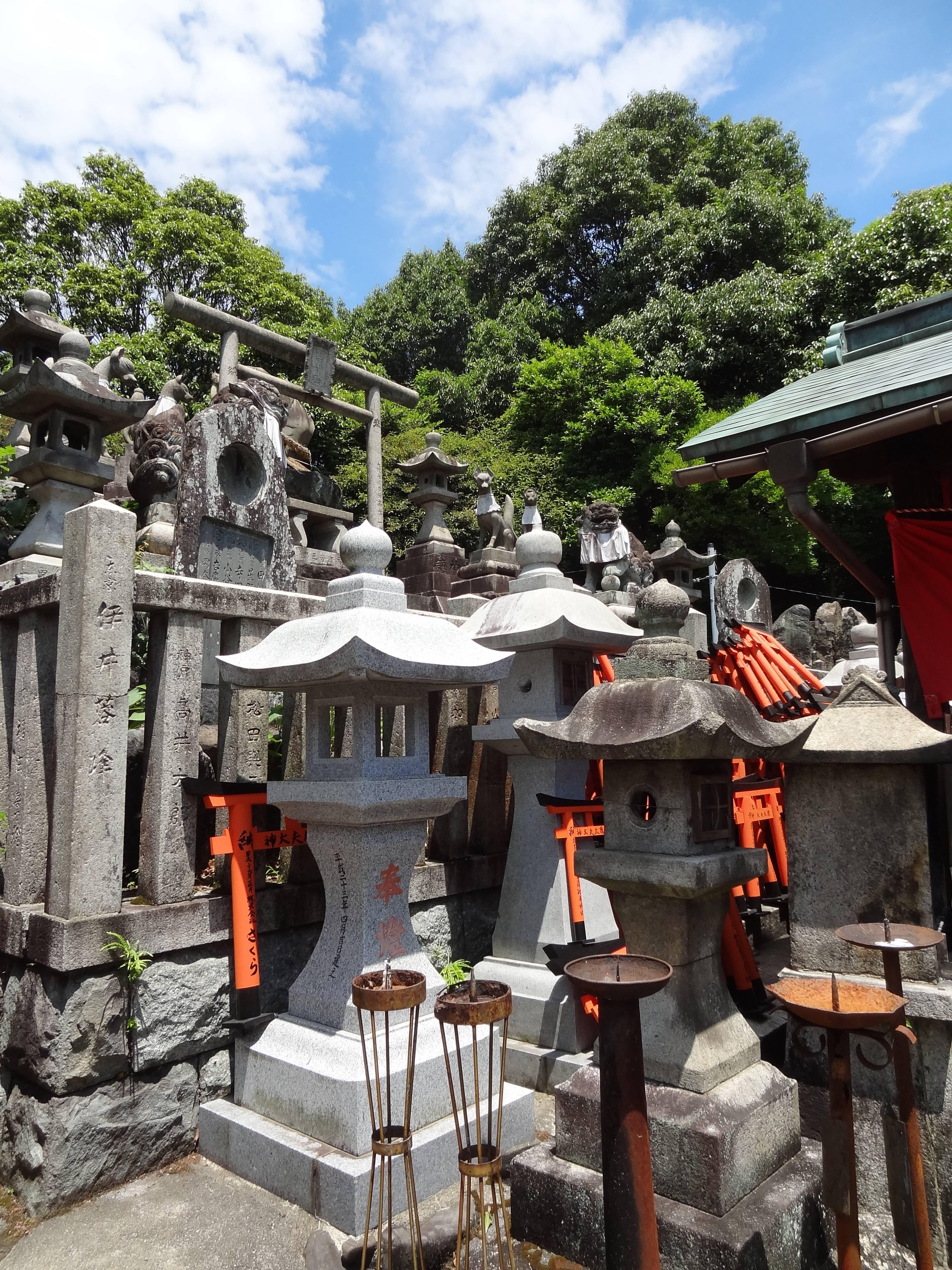 Photo 2: Le sanctuaire aux 10 000 torii, Fushimi Inari