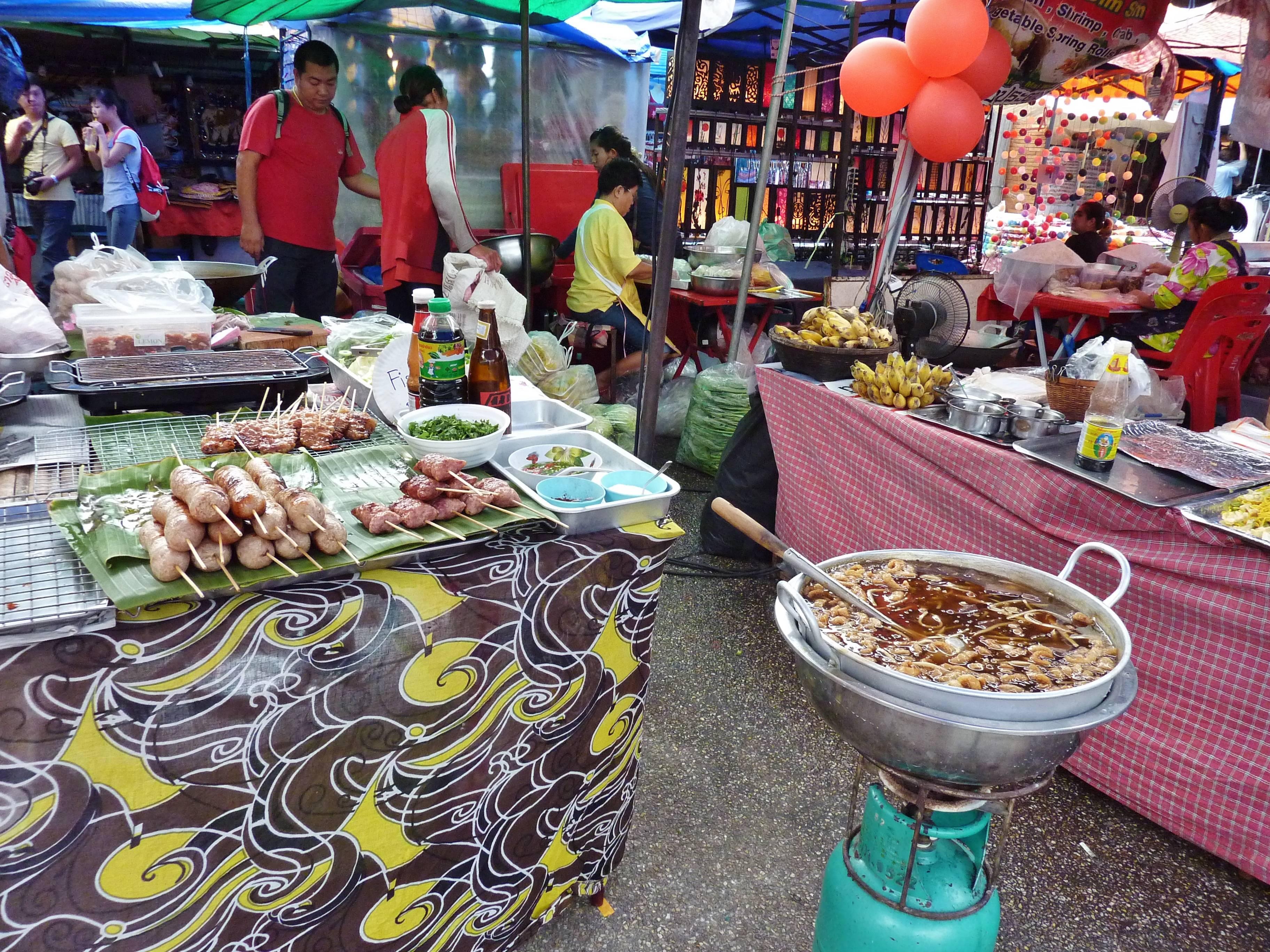 Photo 1: les marchés de Chiang Mai