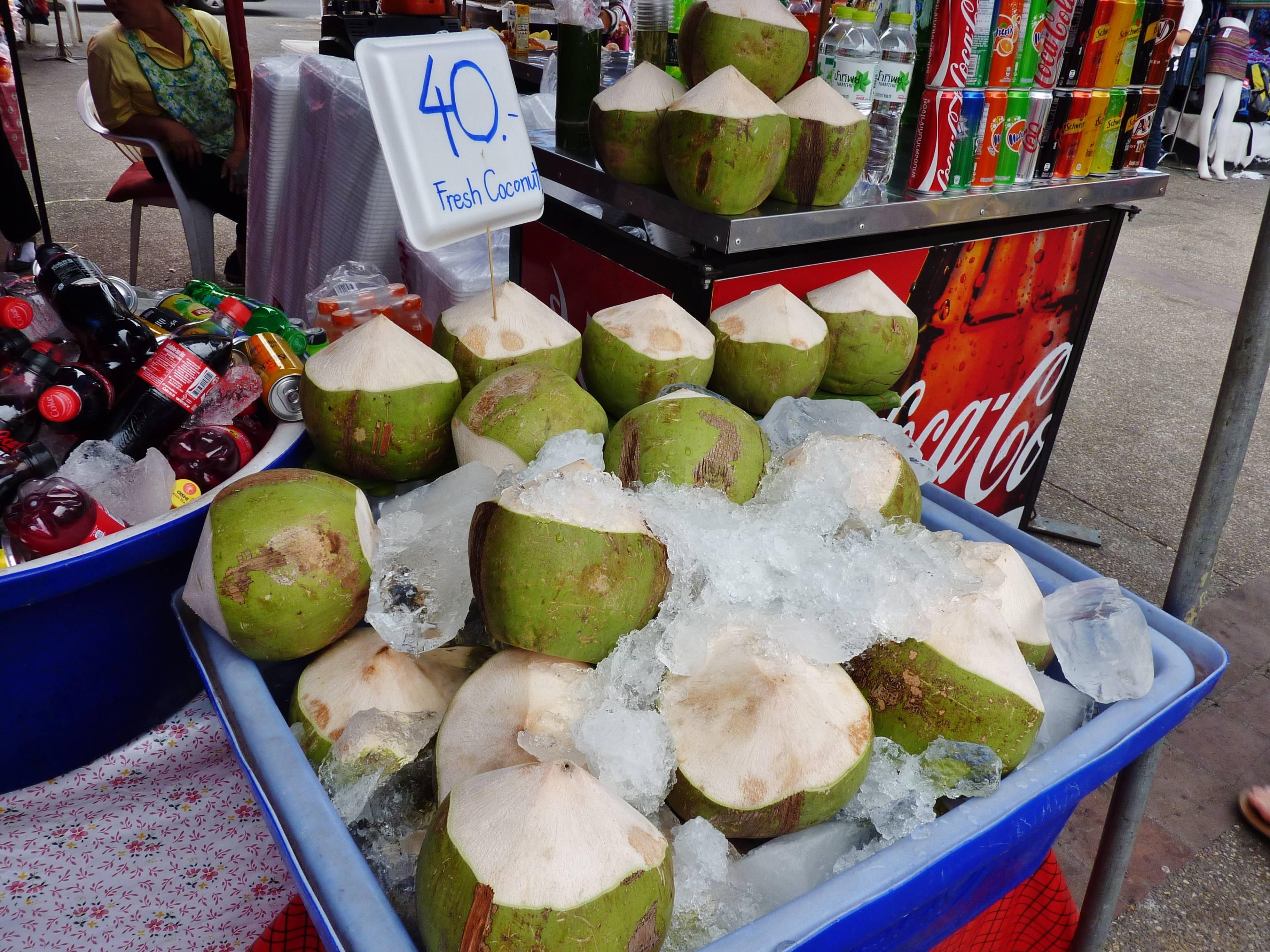 Photo 3: les marchés de Chiang Mai