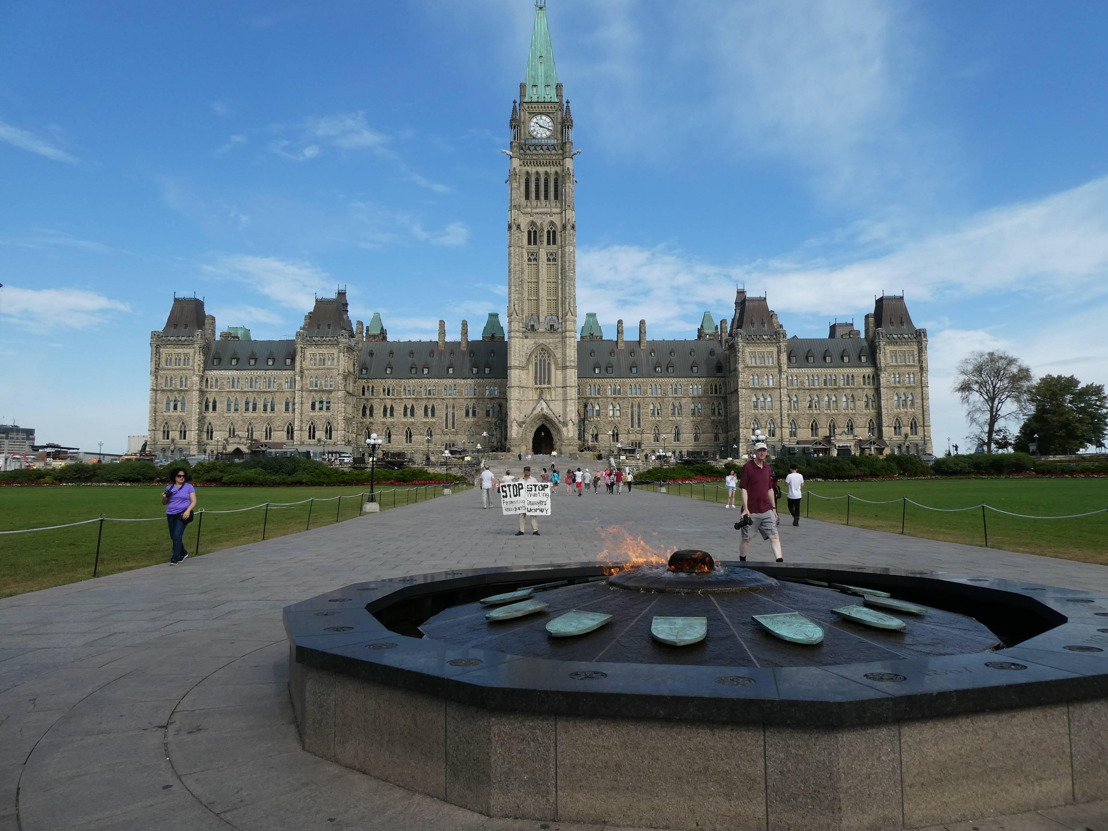 Photo 2: Ottawa, la belle capitale canadienne qui nous charmé