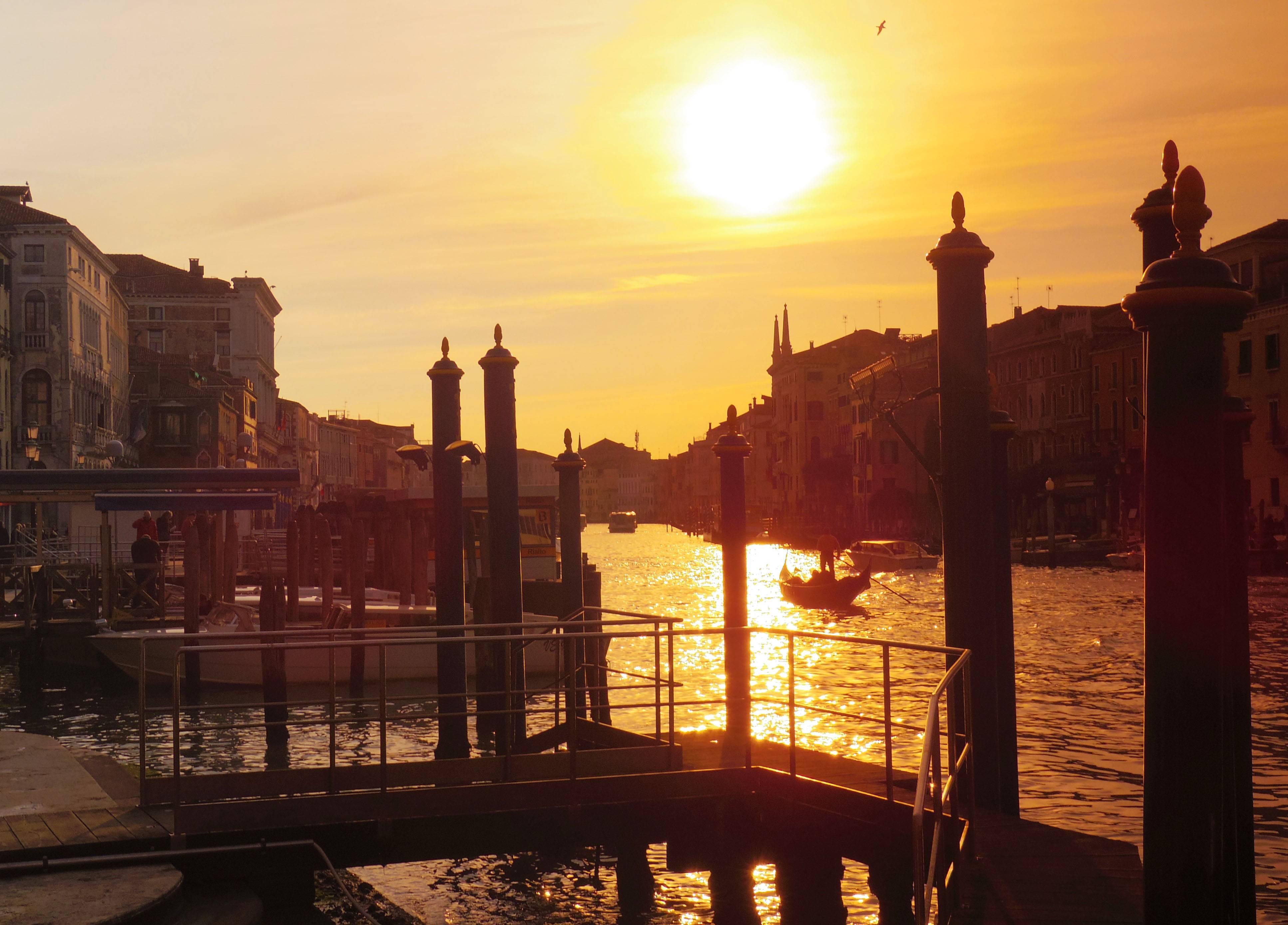 Photo 2: Venise et son grand canal