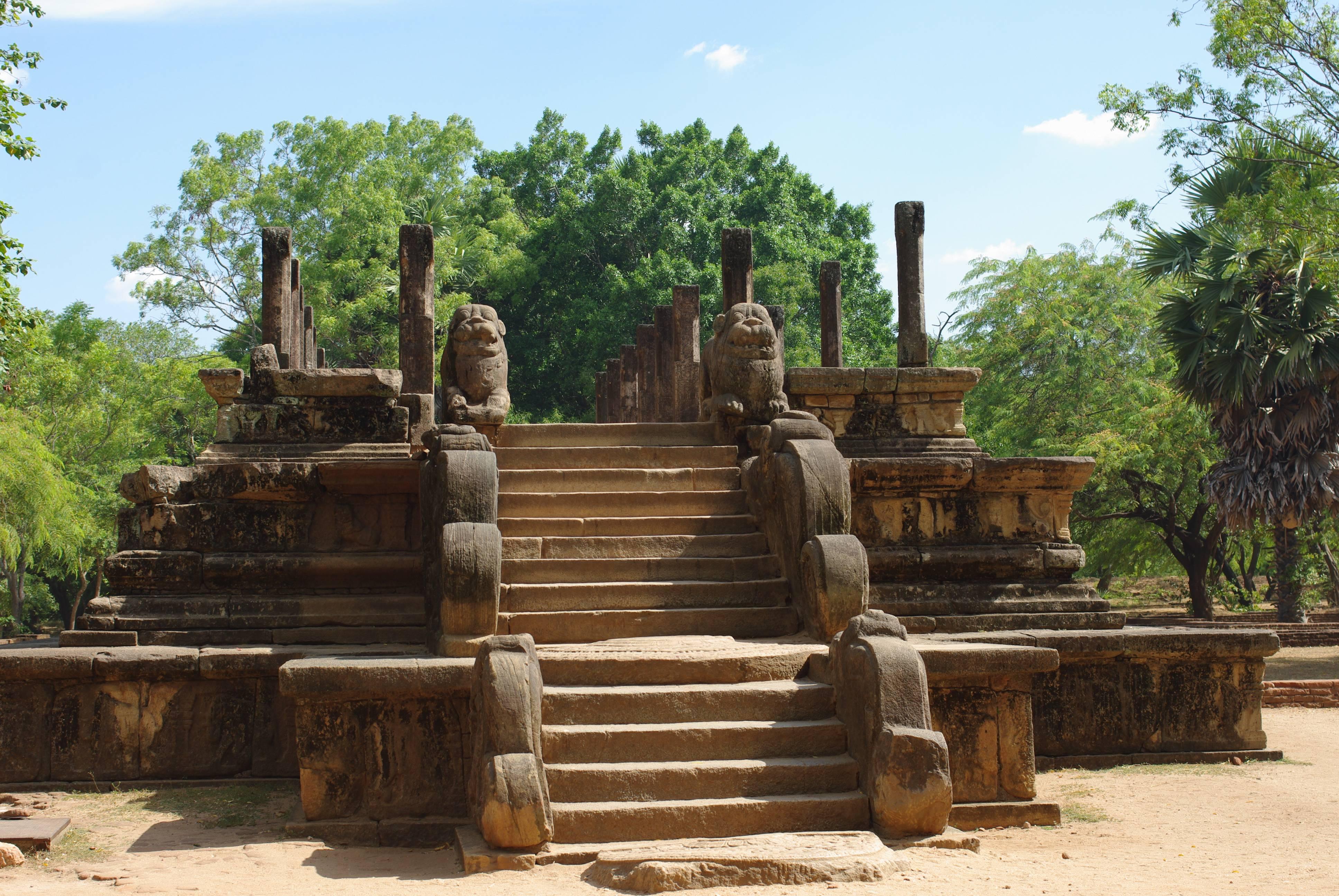 Photo 1: Le site de Polonnaruwa