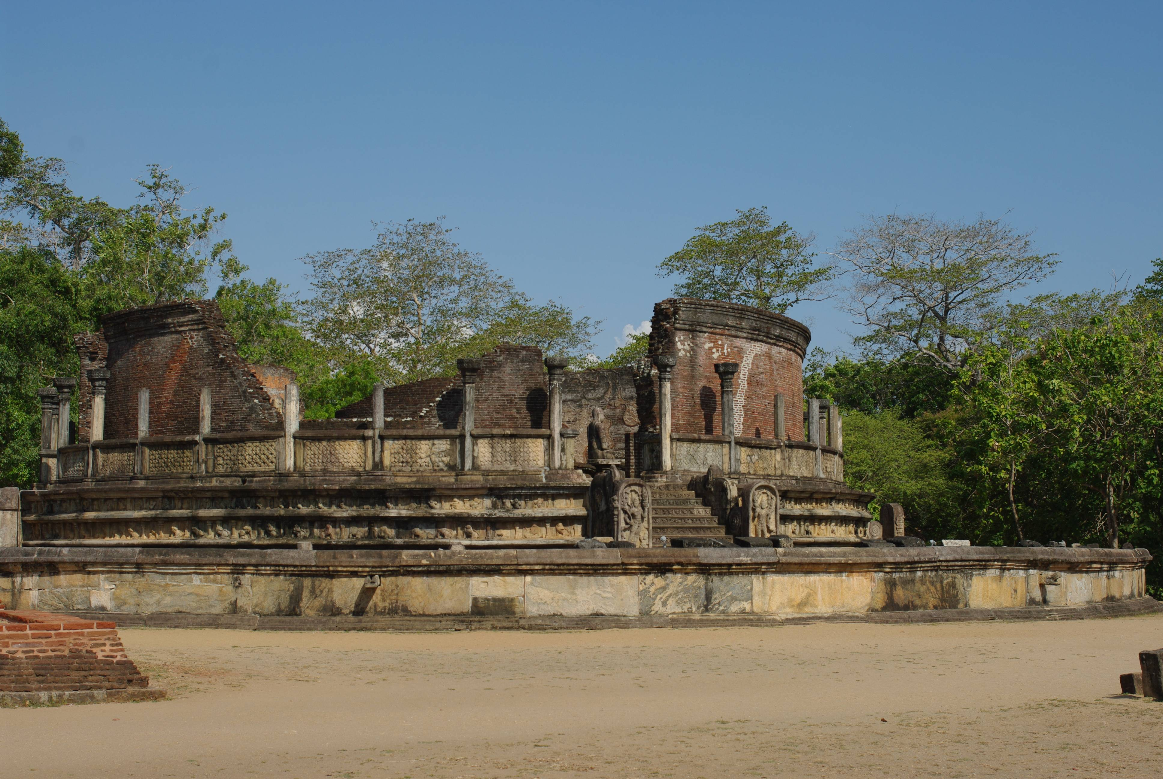 Photo 2: Le site de Polonnaruwa