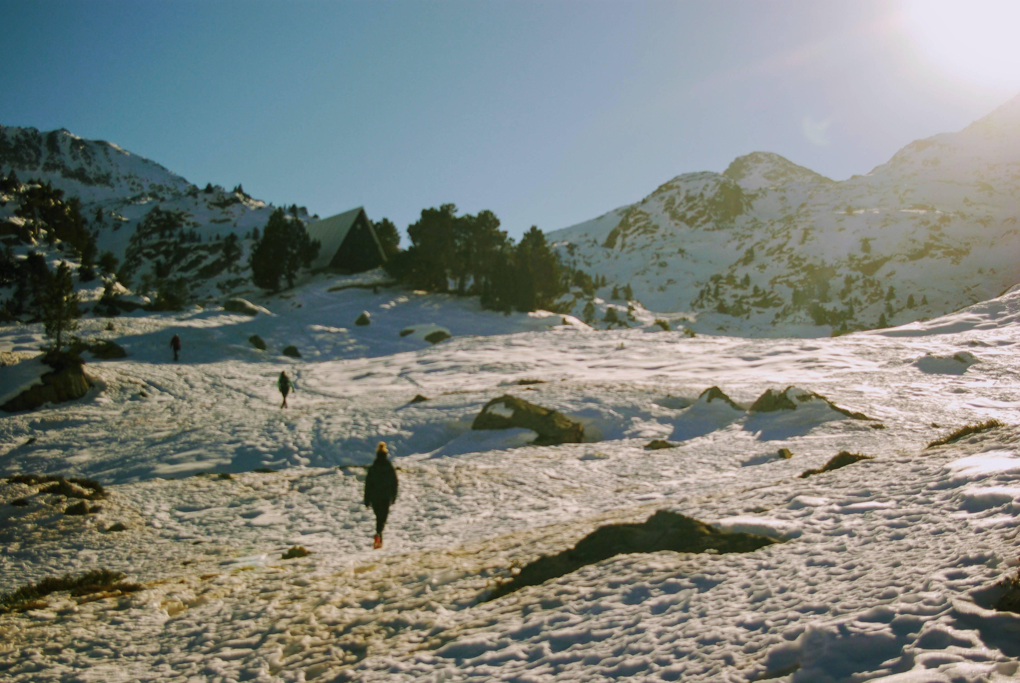 Photo 2: Refuge de Campana à 2225m dans les Hautes Pyrénnées