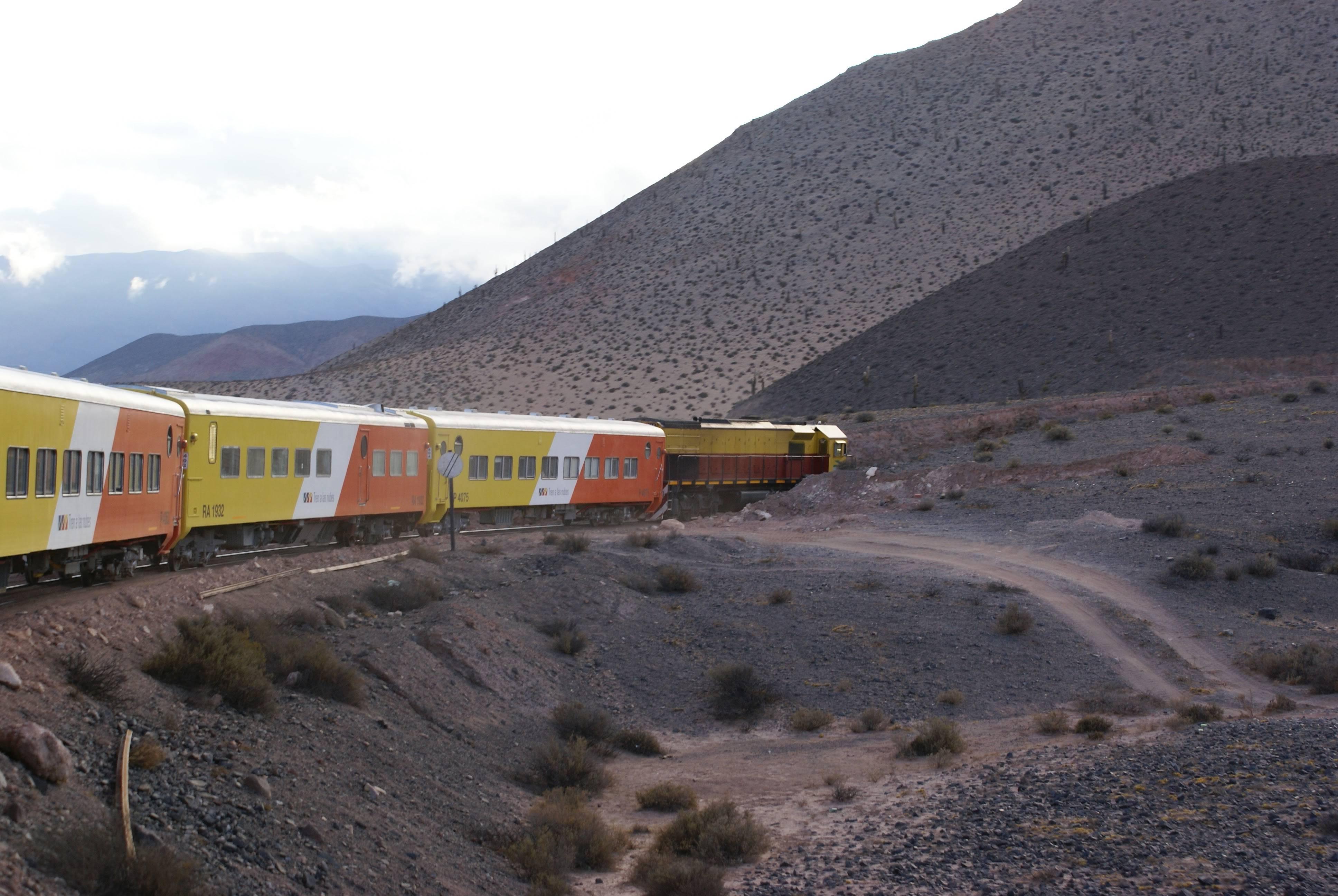 Photo 1: Tren a las nubes, Argentine, Salta, Cordillère des Andes