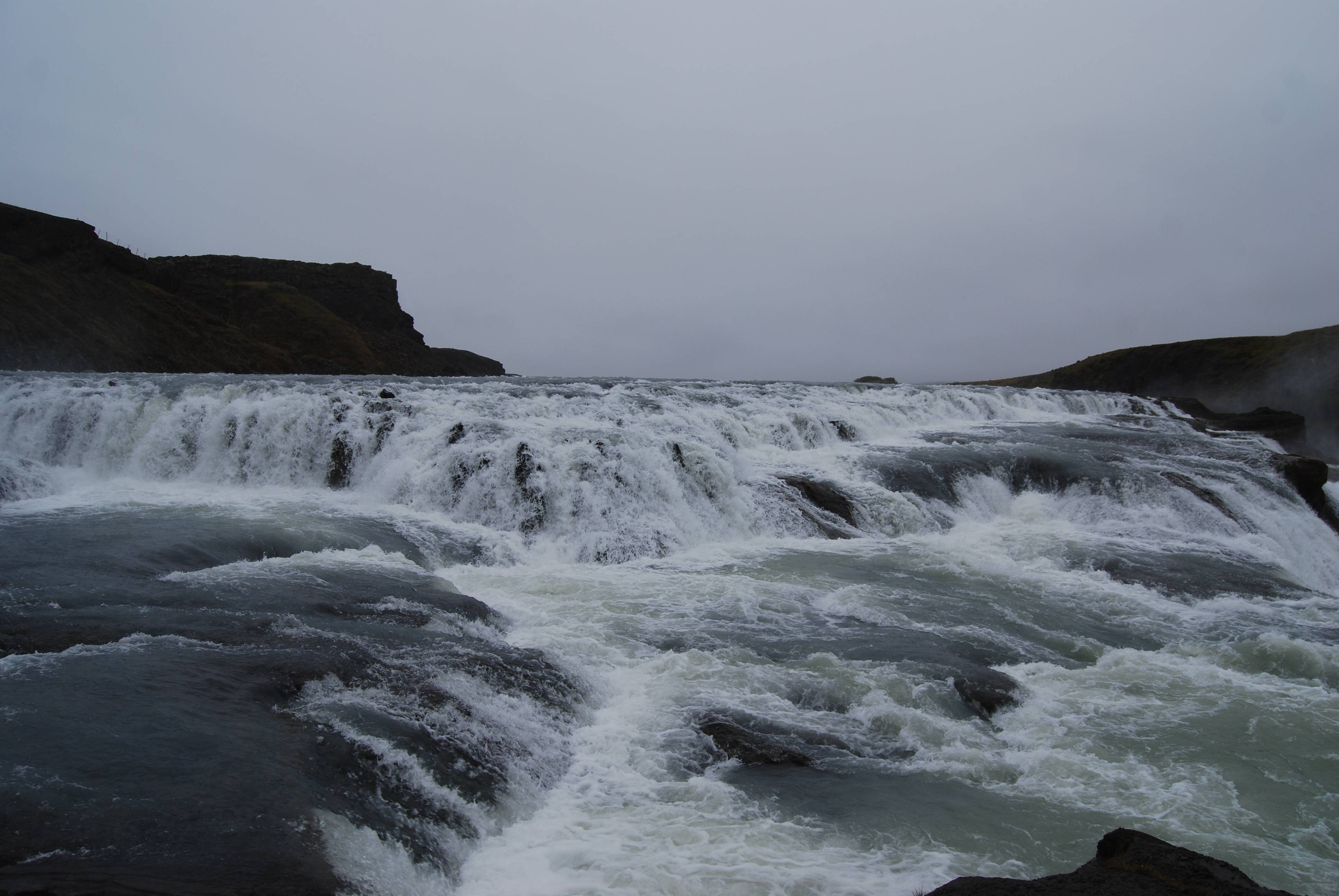 Photo 2: Gullfoss, la double cascade !