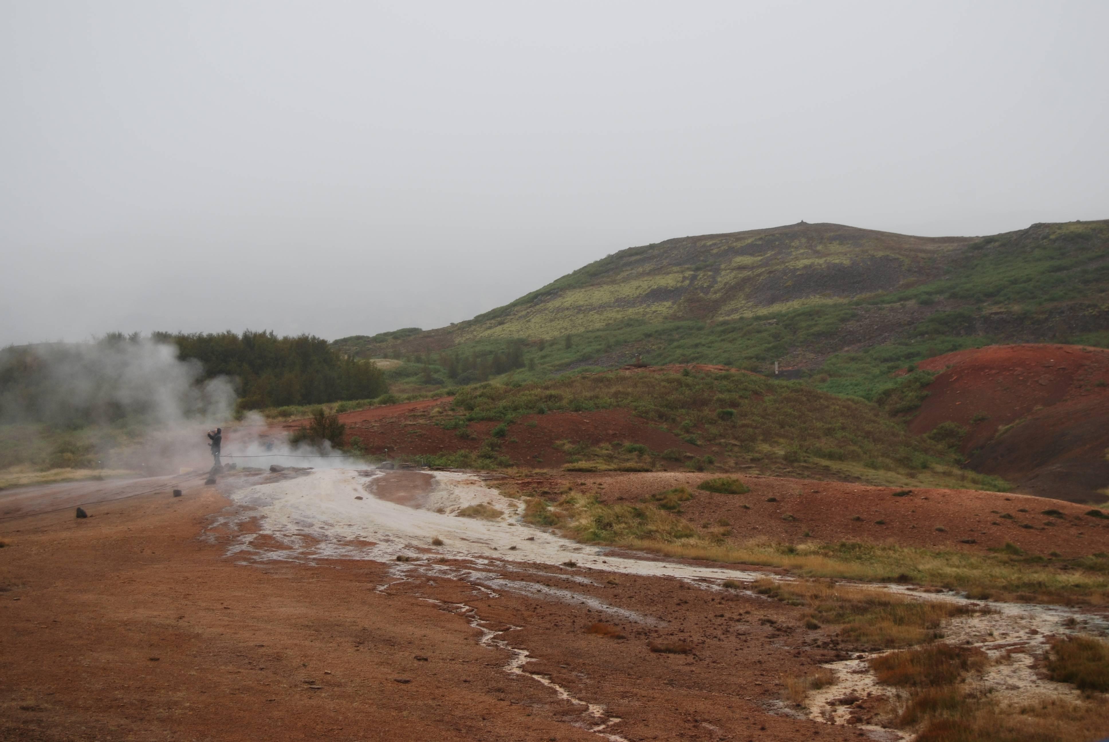 Photo 3: Geysir et ses geysers