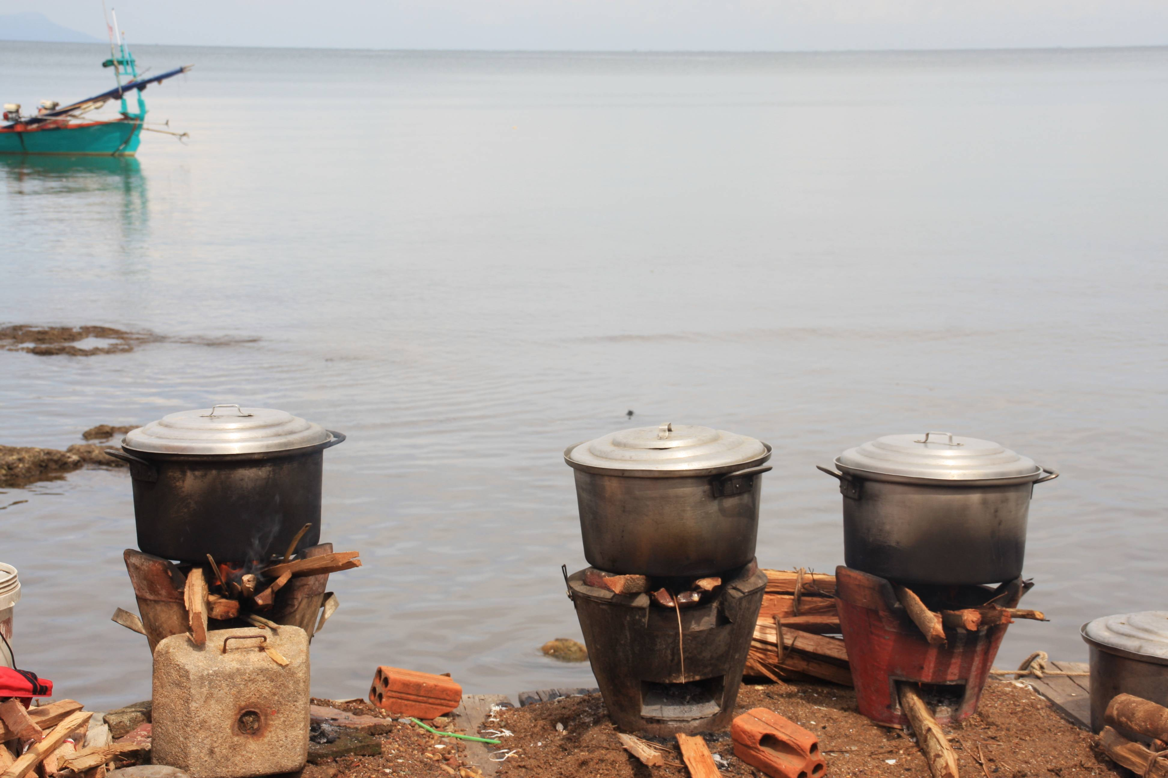 Photo 3: Marché aux crabes de Kep